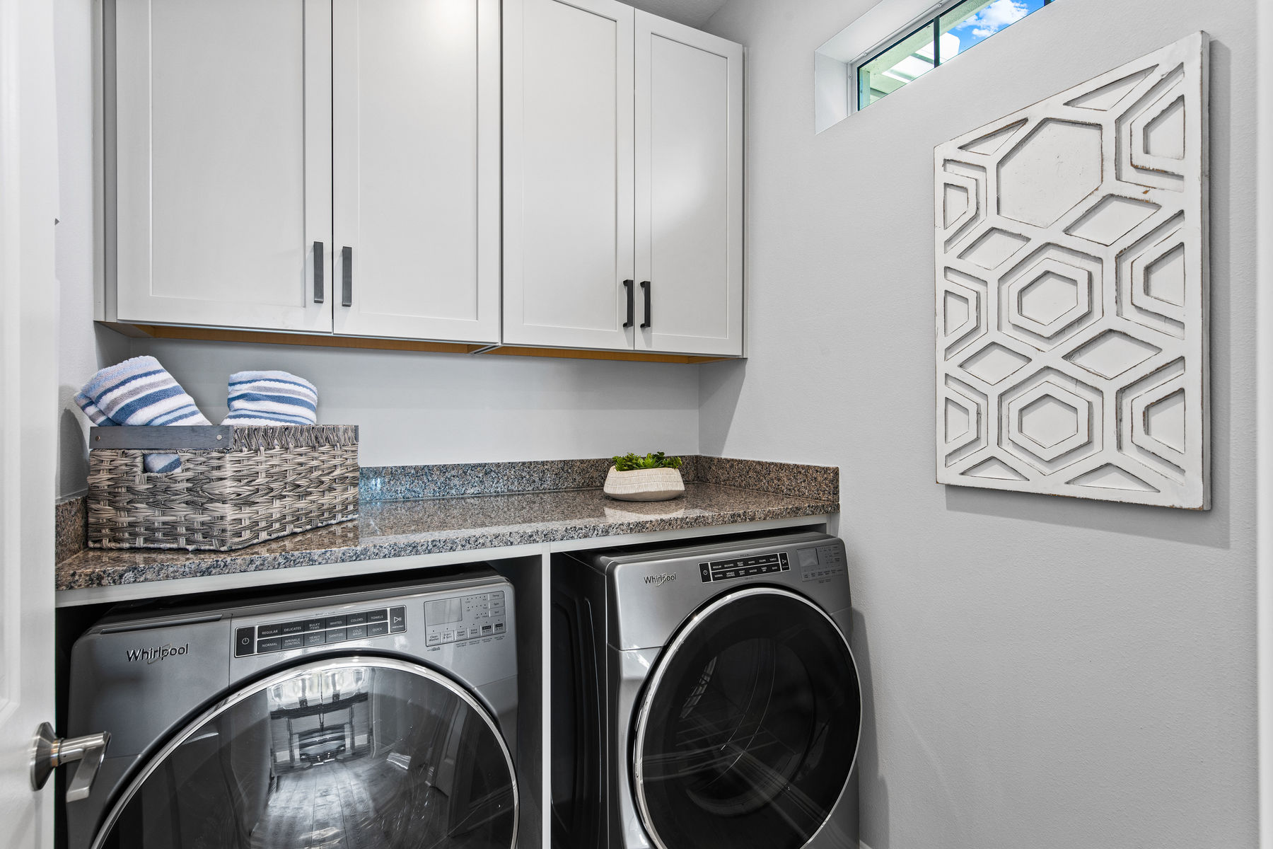 Oceangrove Plan Laundry at Arboretum in Naples Florida by Mattamy Homes