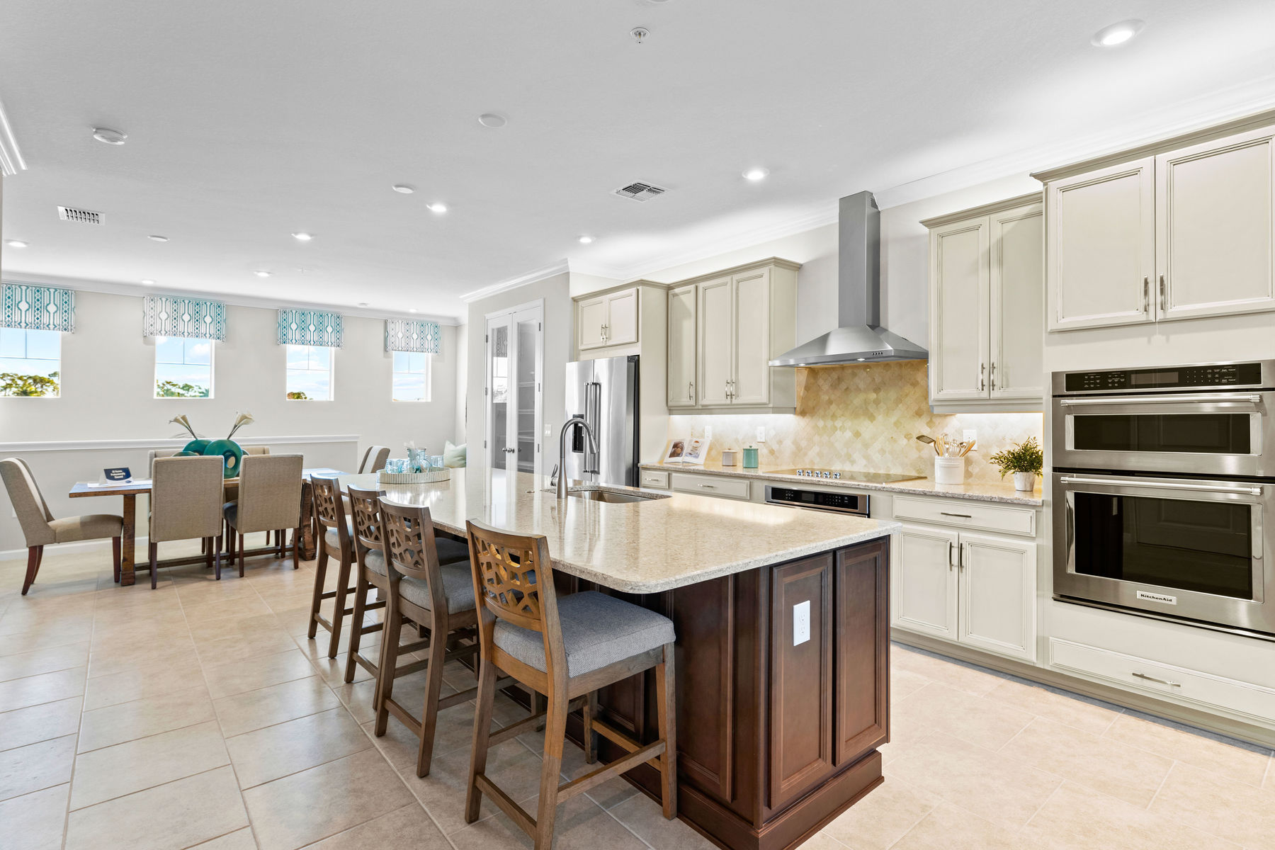 Seabright Plan Kitchen at Arboretum in Naples Florida by Mattamy Homes