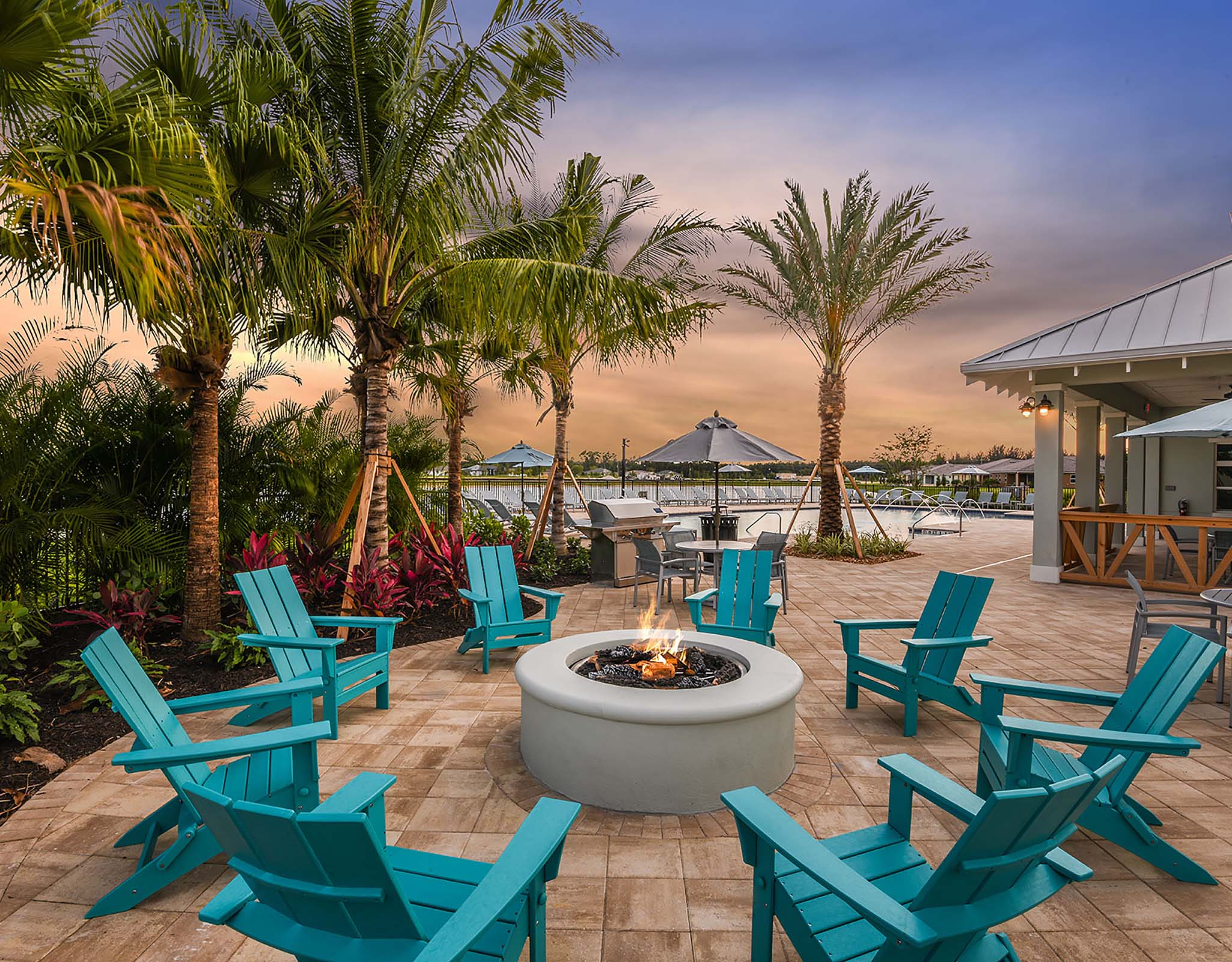 Bonavie Cove Amenities in Fort Myers Florida by Mattamy Homes