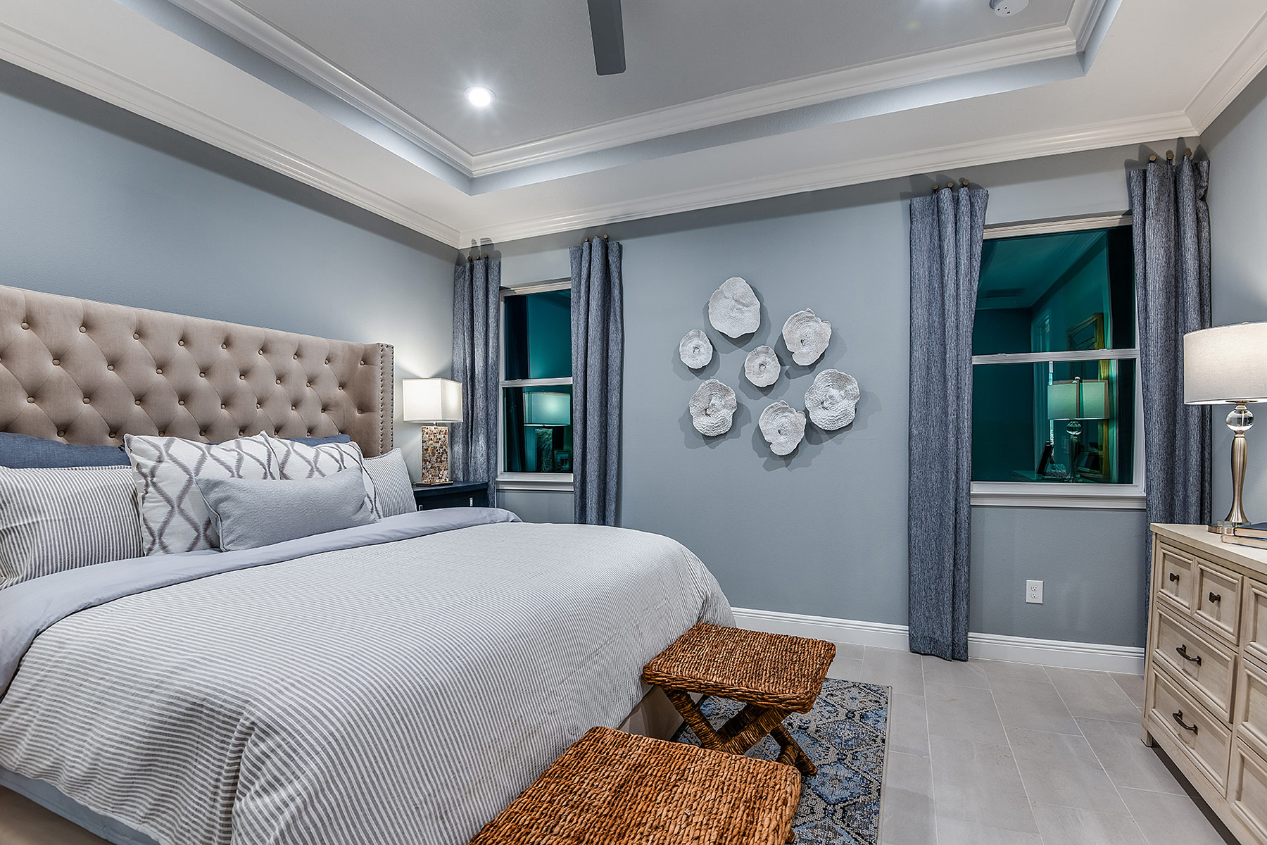 Bonavie Cove Bedroom in Fort Myers Florida by Mattamy Homes