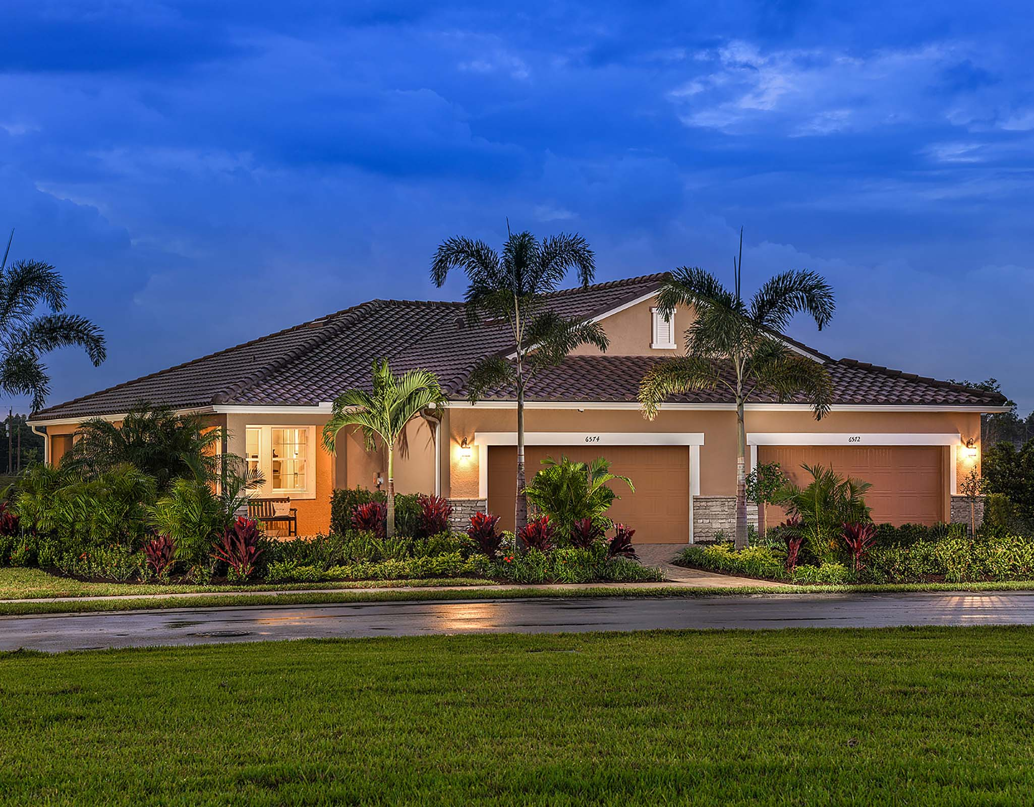 Bonavie Cove Elevation Front in Fort Myers Florida by Mattamy Homes