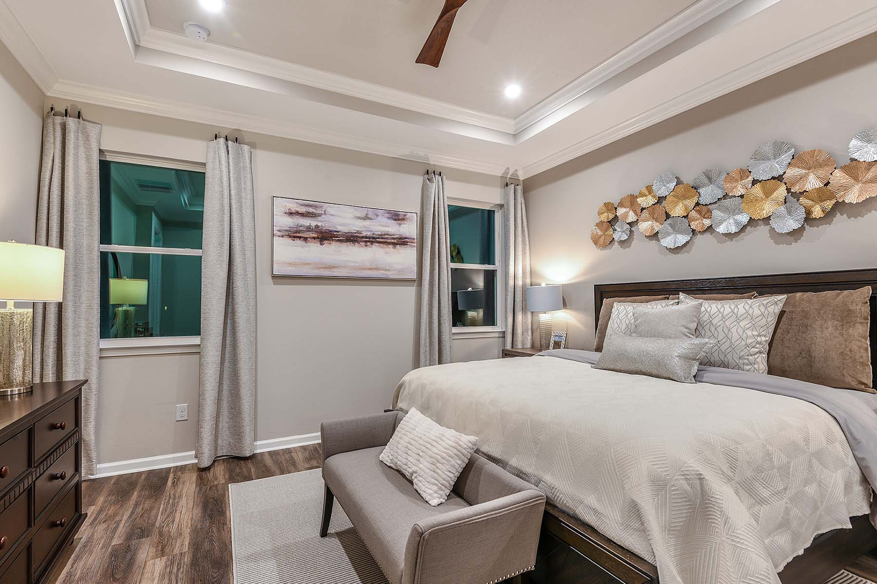 Largo Plan Bedroom at Bonavie Cove in Fort Myers Florida by Mattamy Homes