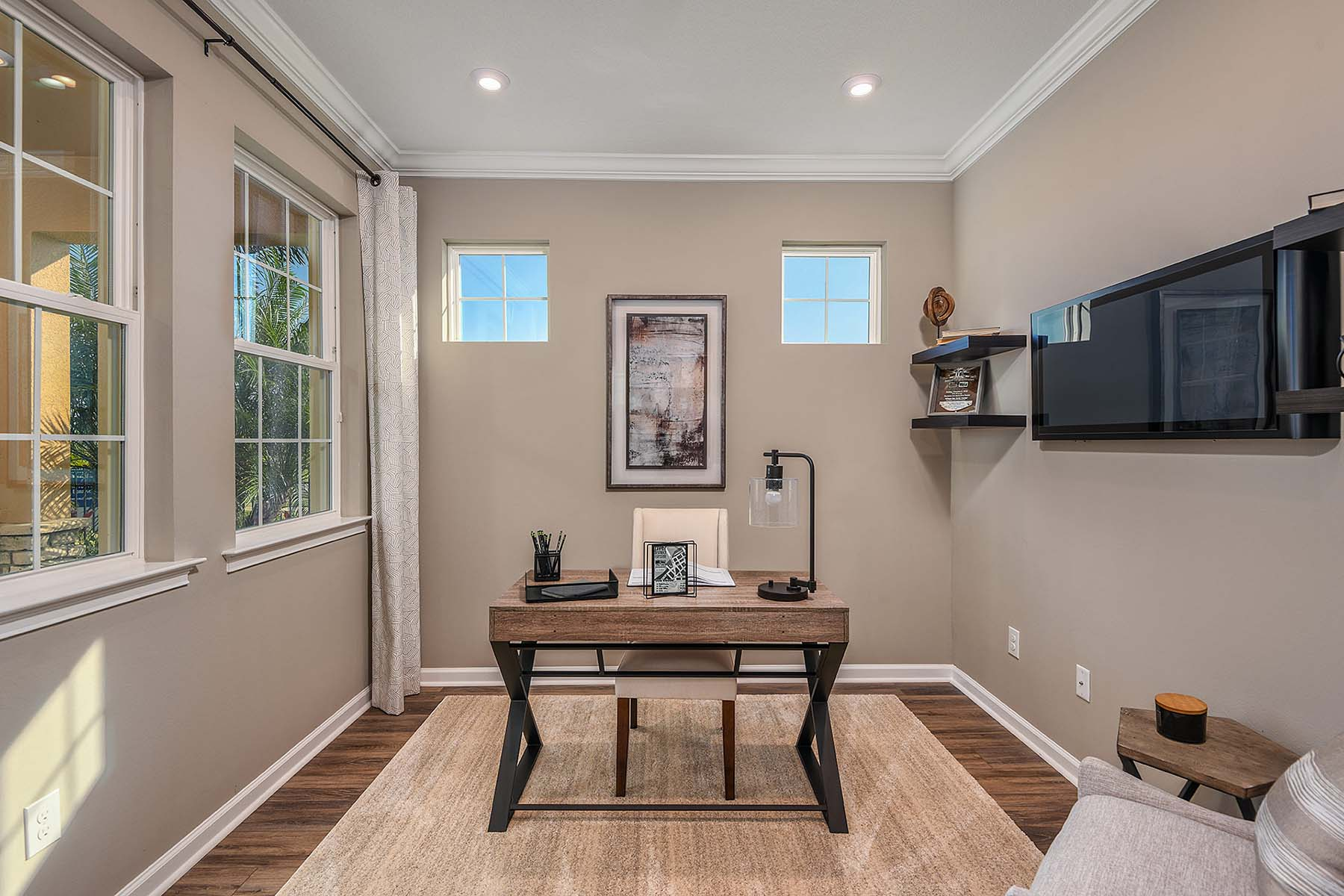 Largo Plan Study Room at Bonavie Cove in Fort Myers Florida by Mattamy Homes