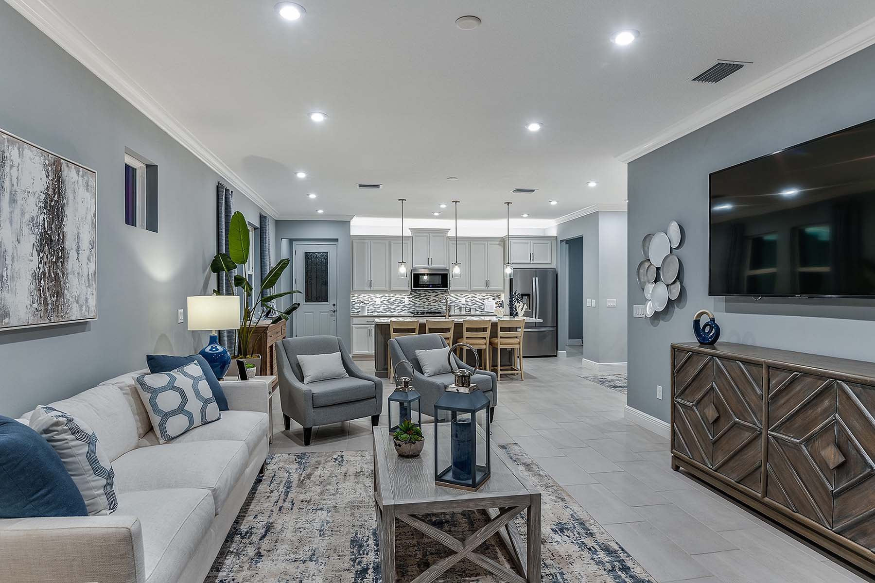 Bonavie Cove Greatroom in Fort Myers Florida by Mattamy Homes