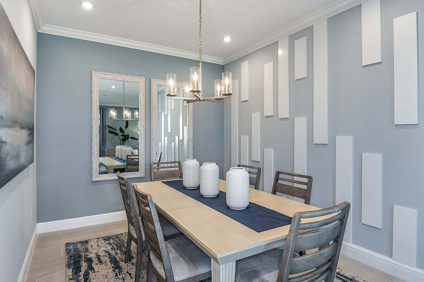Oceana Plan Dining at Bonavie Cove in Fort Myers Florida by Mattamy Homes