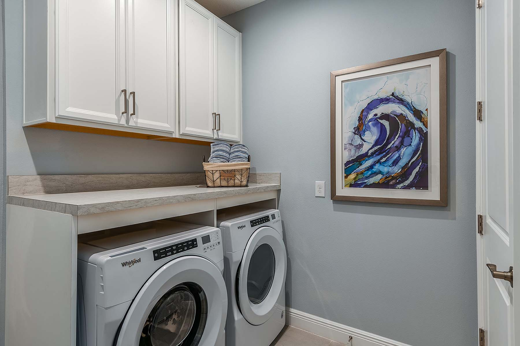 Oceana Plan Laundry at Bonavie Cove in Fort Myers Florida by Mattamy Homes