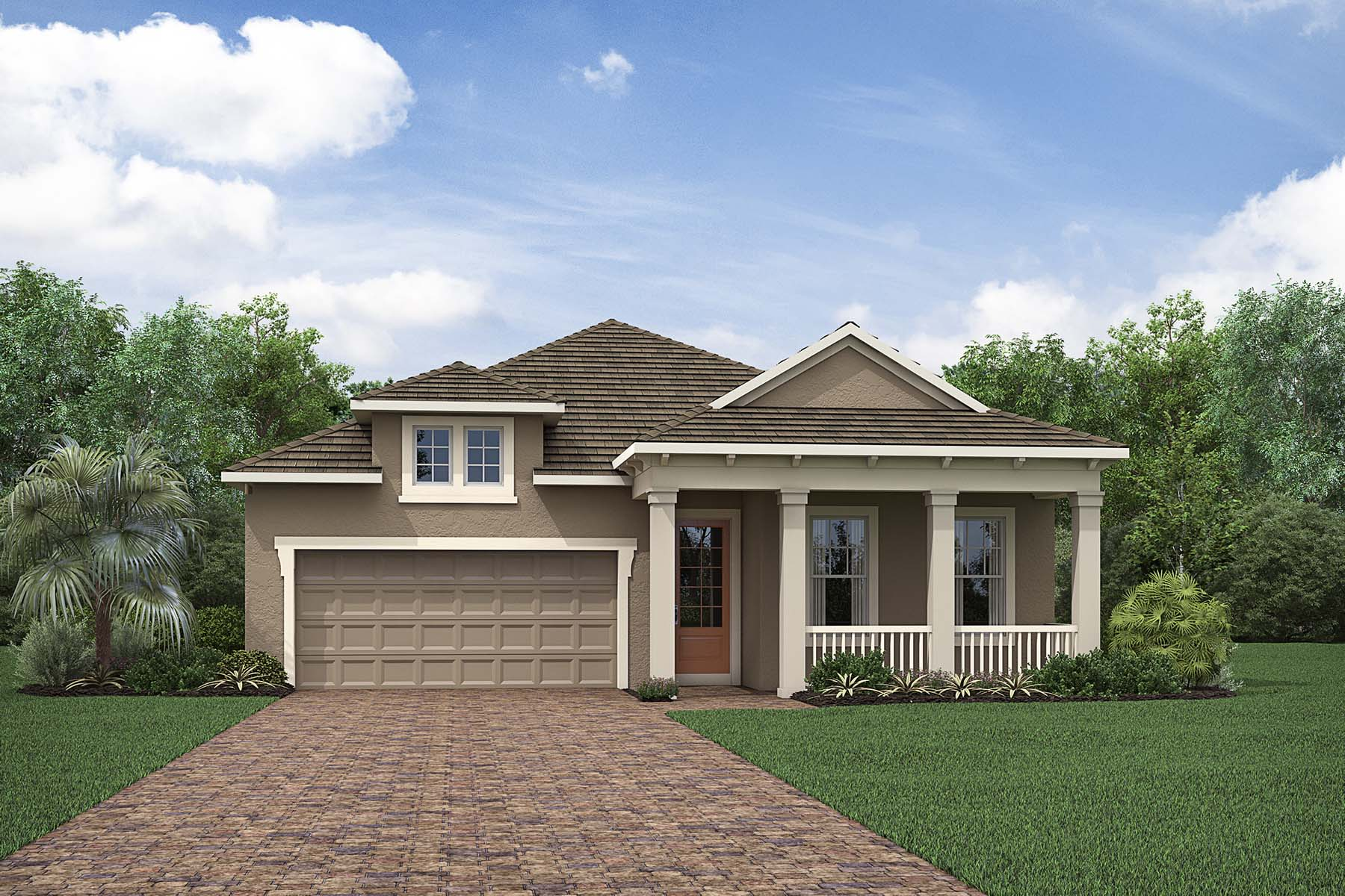 Banyan Plan elevationwestindies_compasslanding_banyan at Compass Landing in Naples Florida by Mattamy Homes