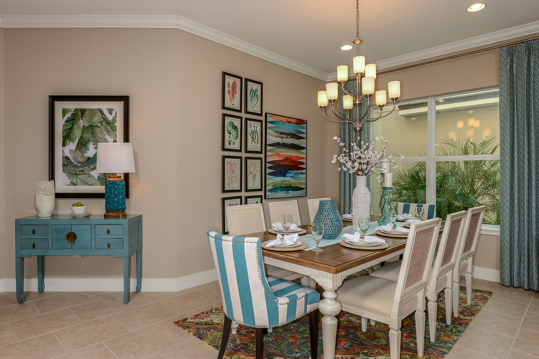 Banyan Plan Dining at Compass Landing in Naples Florida by Mattamy Homes