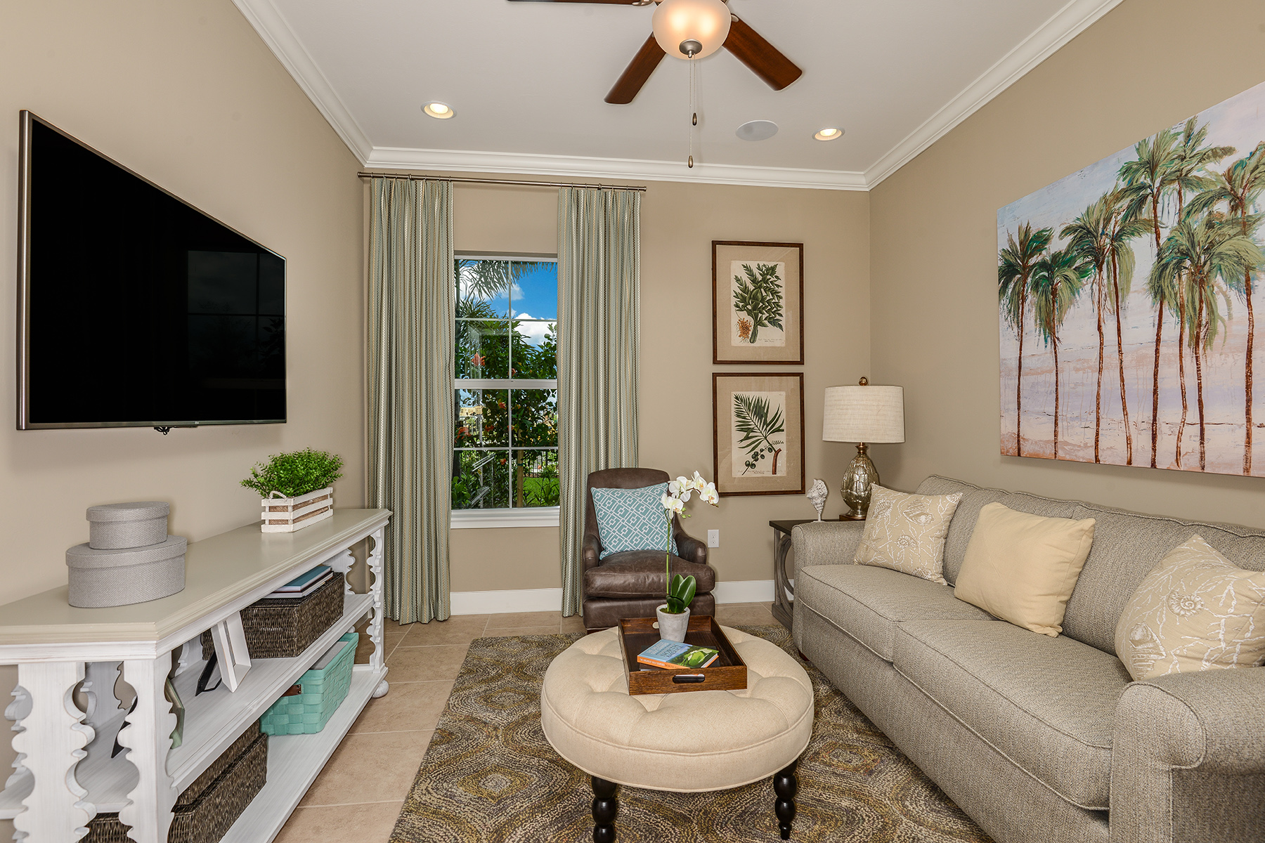 Banyan Plan Study Room at Compass Landing in Naples Florida by Mattamy Homes