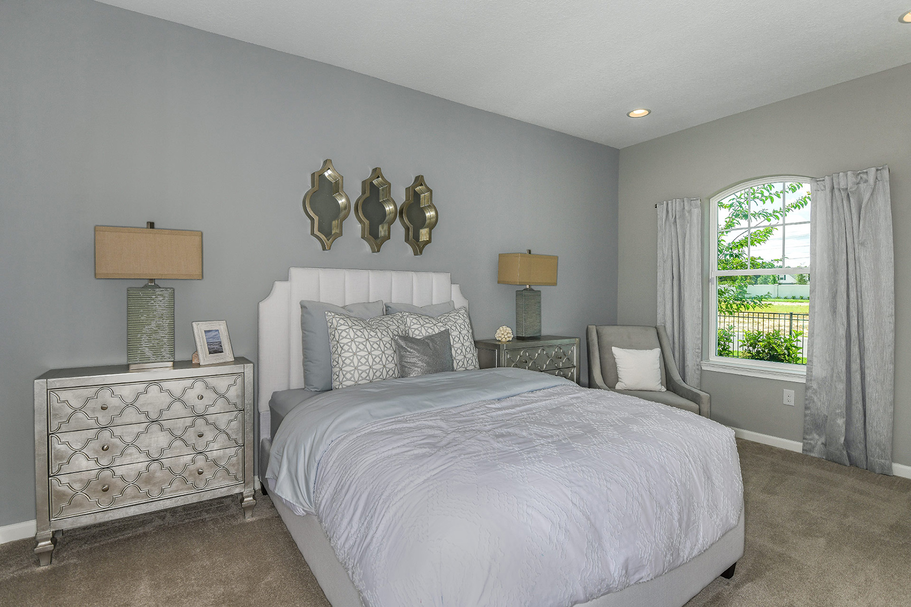Coquina Plan Bedroom at Boyette Park in Riverview Florida by Mattamy Homes
