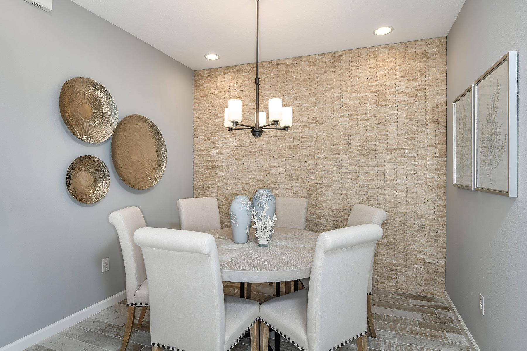 Coquina Plan Dining at Boyette Park in Riverview Florida by Mattamy Homes