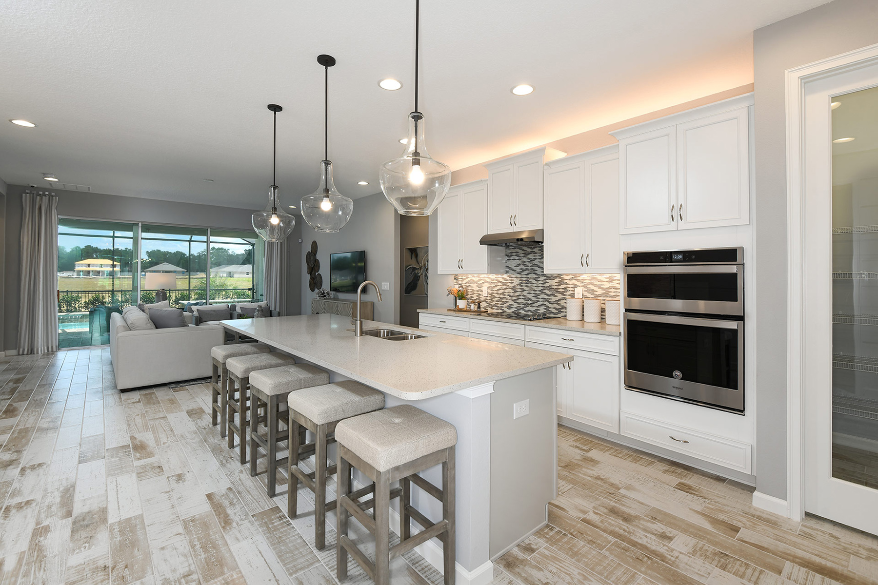 Coquina II Plan Kitchen at Compass Landing in Naples Florida by Mattamy Homes