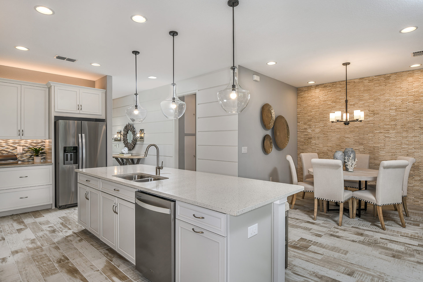 Coquina Plan Kitchen at Boyette Park in Riverview Florida by Mattamy Homes