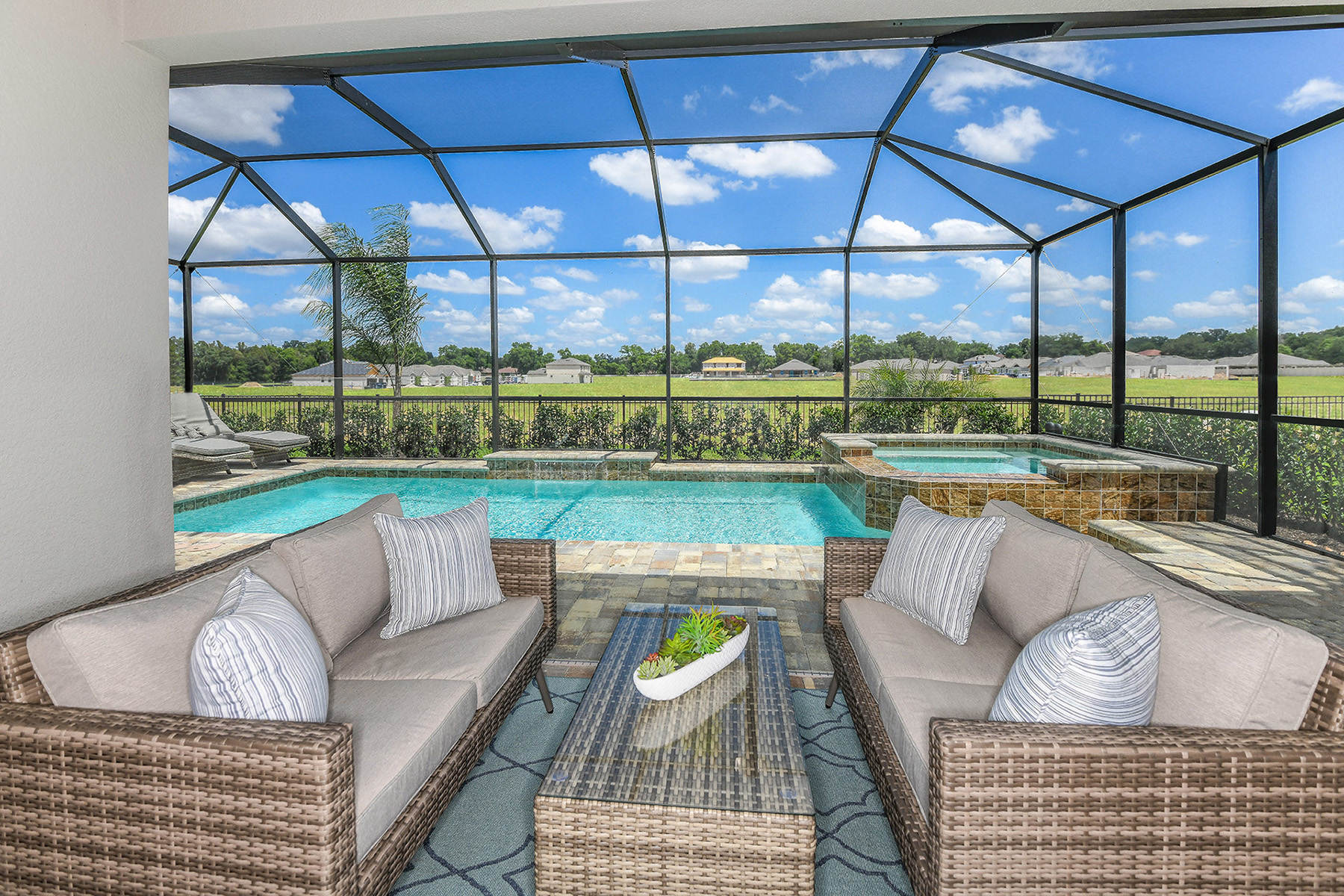 Coquina II Plan WaterFeatures at Compass Landing in Naples Florida by Mattamy Homes