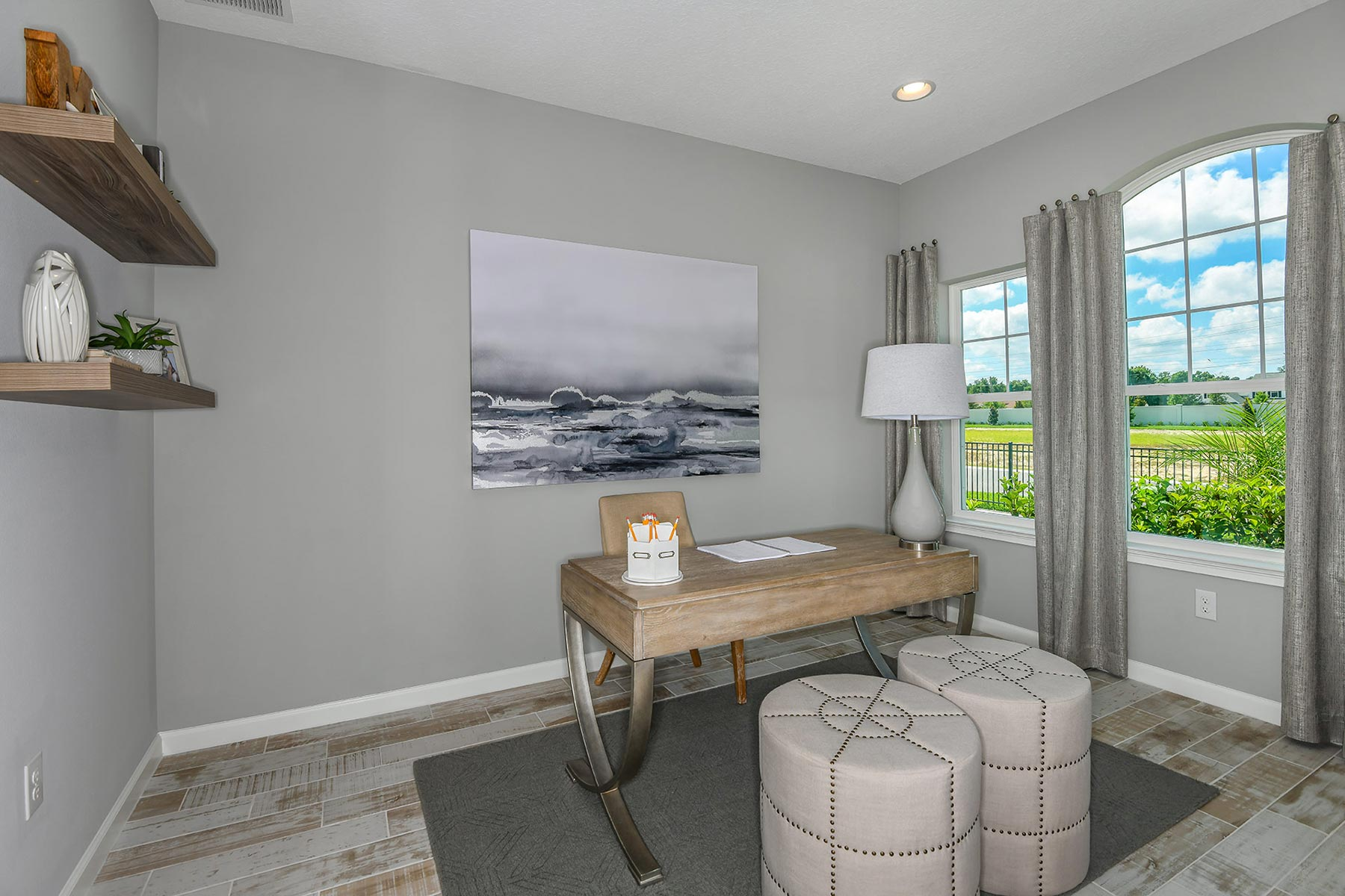 Coquina Plan Study Room at Boyette Park in Riverview Florida by Mattamy Homes