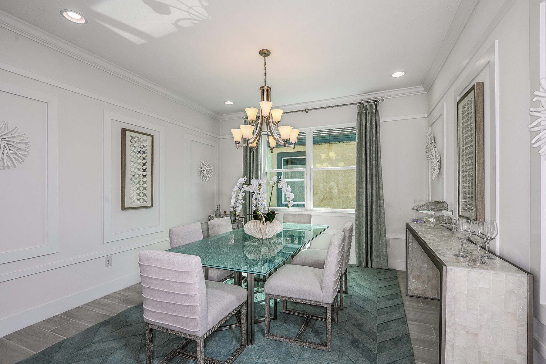 Jubilee II Plan Dining at Compass Landing in Naples Florida by Mattamy Homes