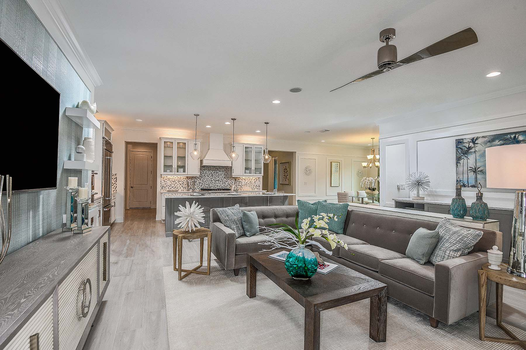 Jubilee II Plan Greatroom at Compass Landing in Naples Florida by Mattamy Homes