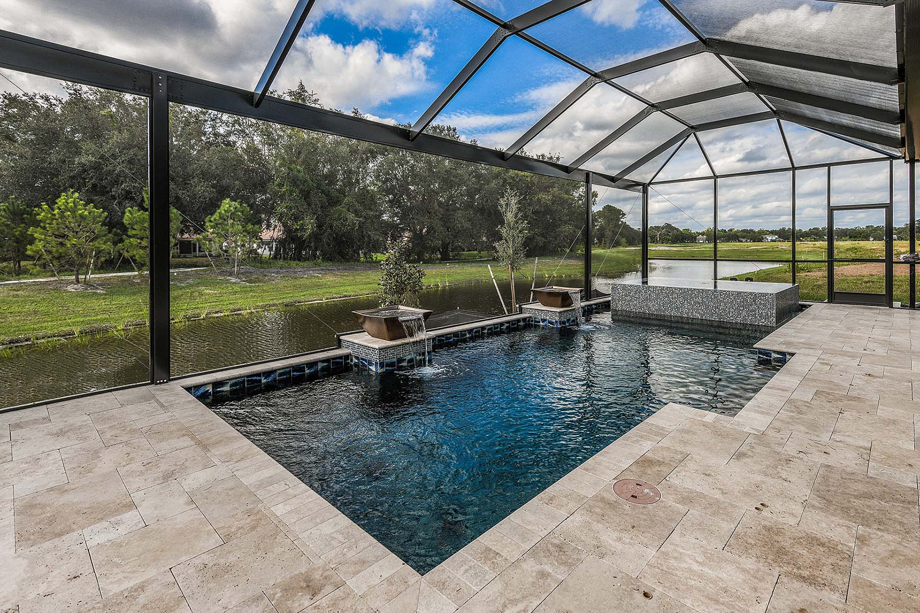 Jubilee II Plan WaterFeatures at Compass Landing in Naples Florida by Mattamy Homes