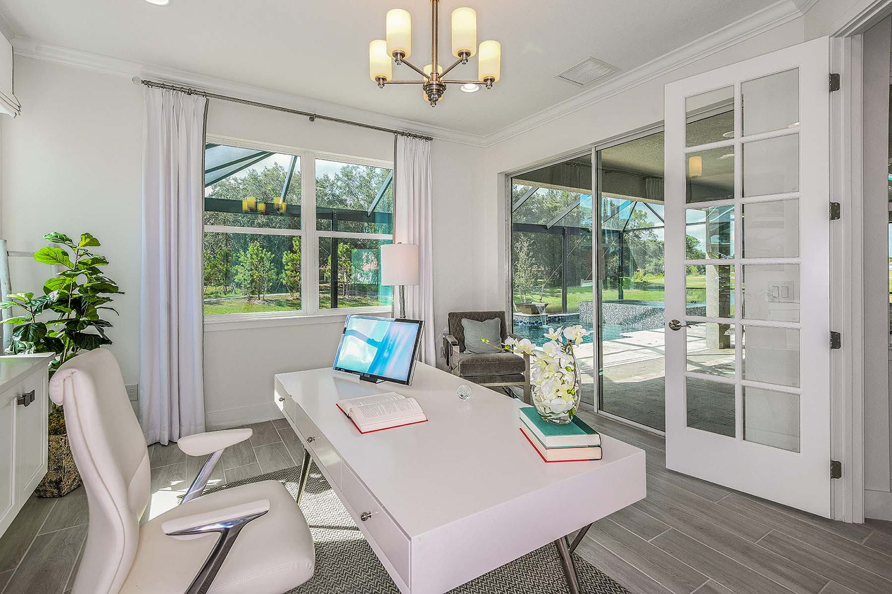 Jubilee II Plan Study Room at Compass Landing in Naples Florida by Mattamy Homes