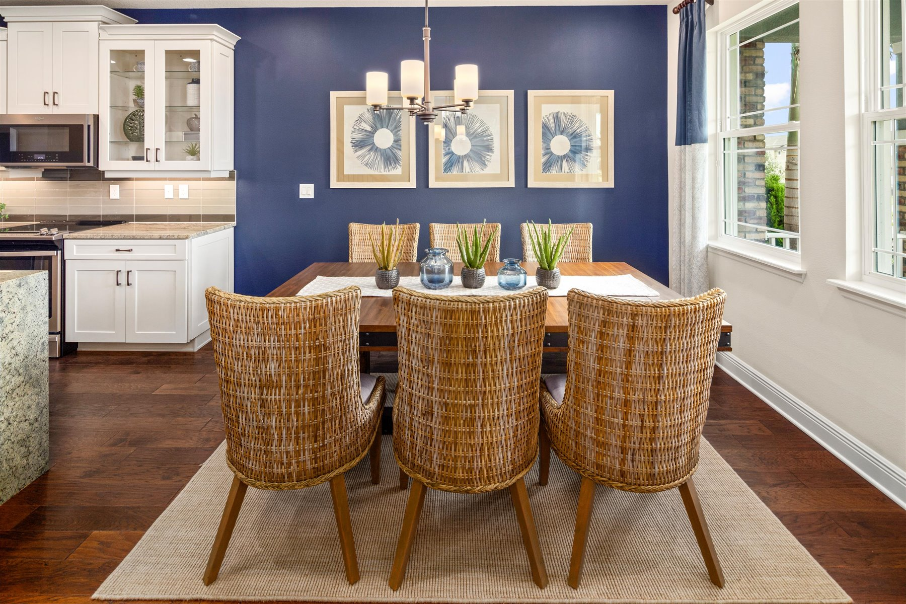 Arcadia Plan Dining at Hawksmoor in Winter Garden Florida by Mattamy Homes