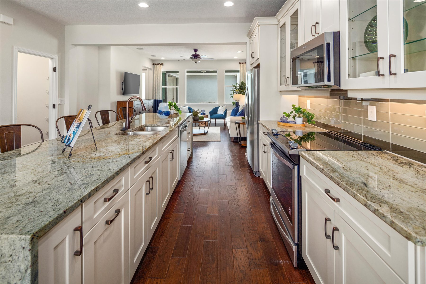 Arcadia Plan Kitchen at Hawksmoor in Winter Garden Florida by Mattamy Homes