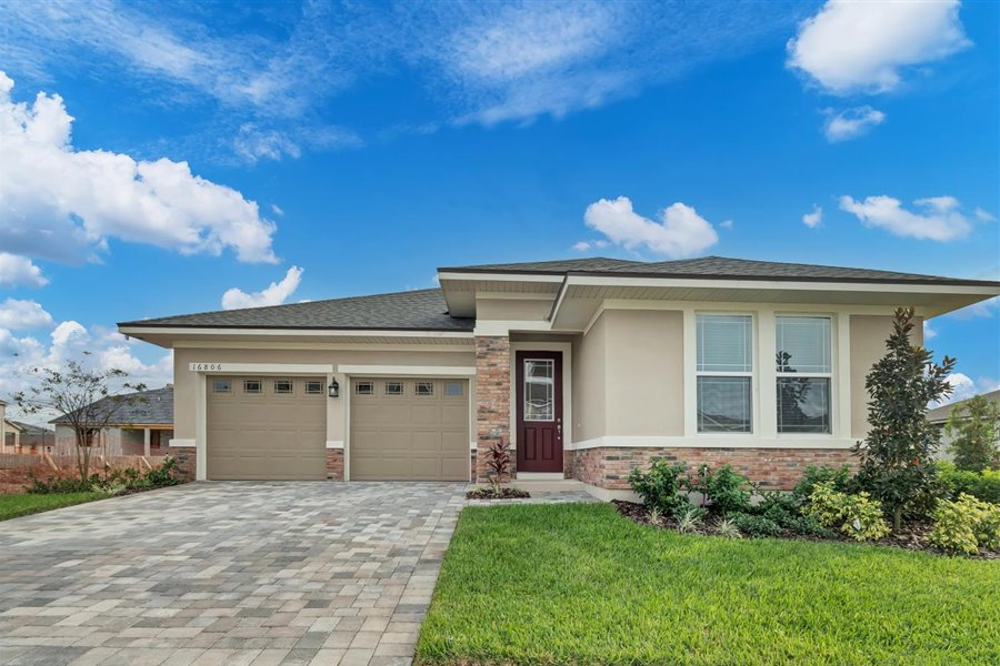 Hawksmoor Elevation Front in Winter Garden Florida by Mattamy Homes