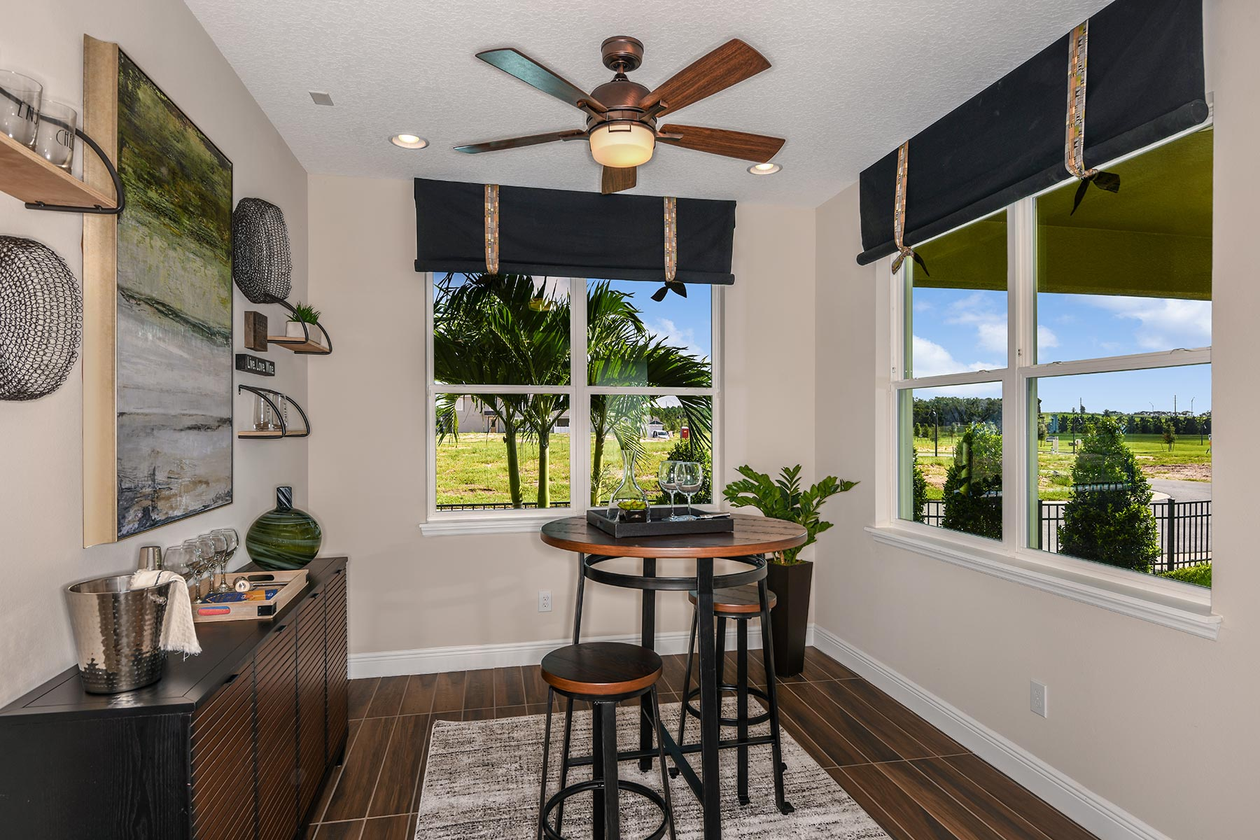 Kenwood II Plan Recreation Room at Meridian Parks in Orlando Florida by Mattamy Homes