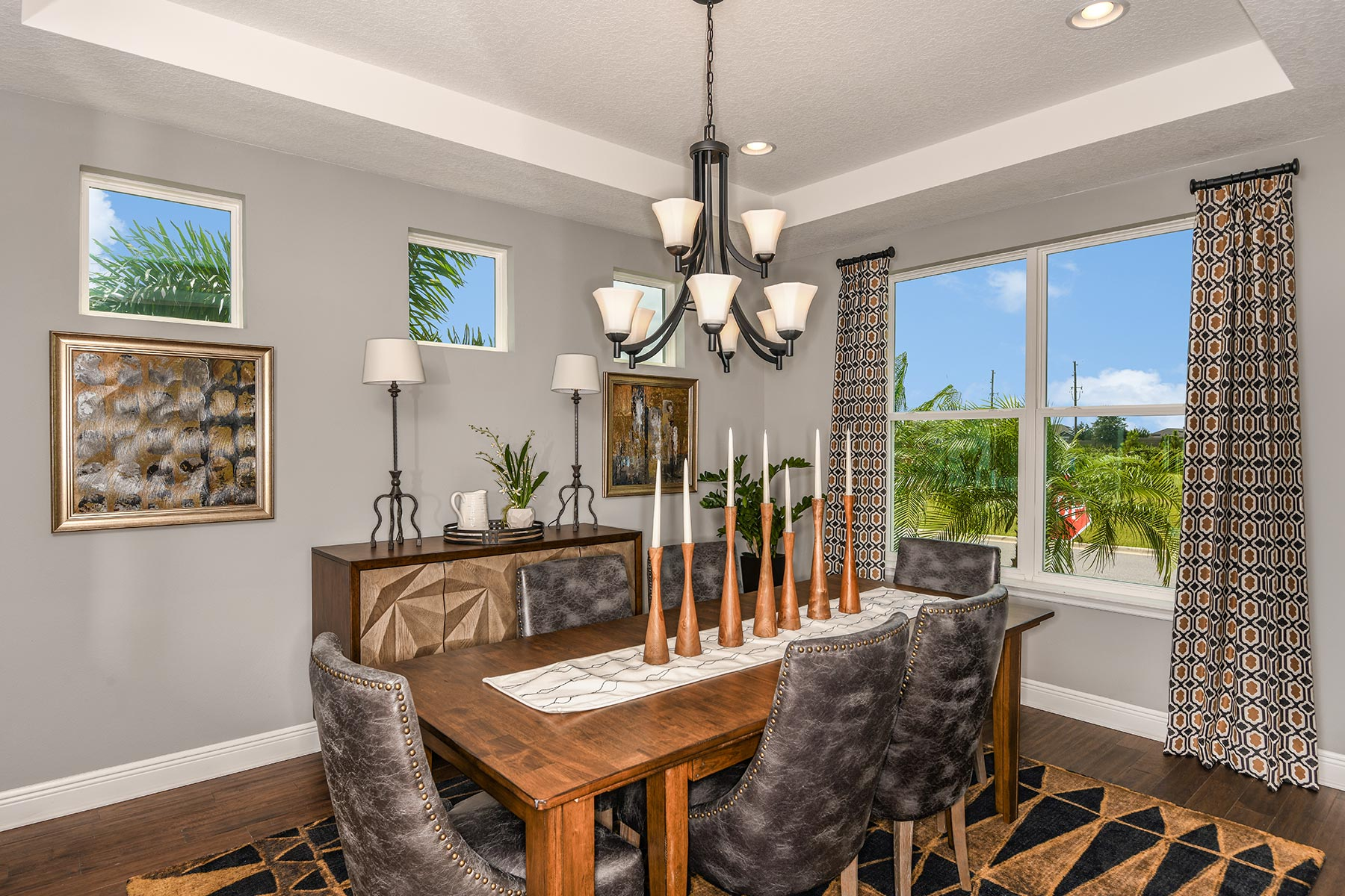 Riverside II Plan Dining at Meridian Parks in Orlando Florida by Mattamy Homes