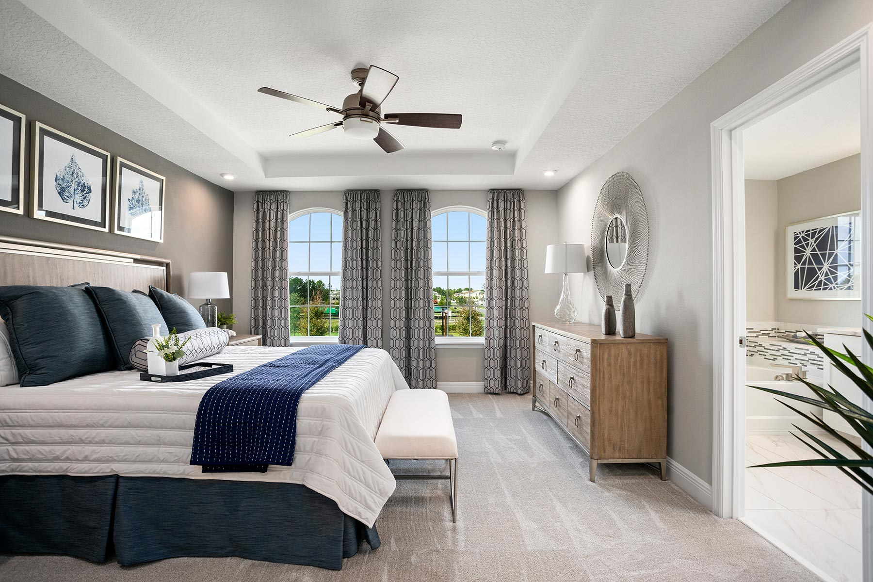 Legado Bedroom in Windermere Florida by Mattamy Homes