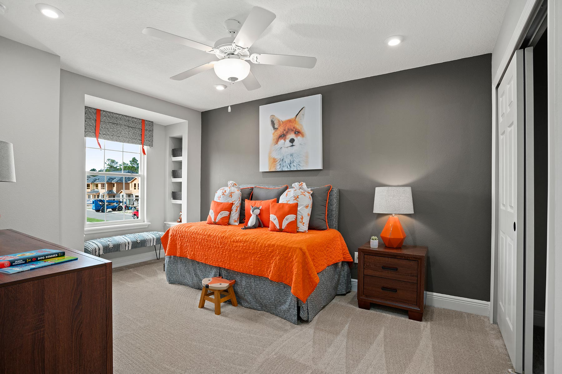 Amber Plan Bedroom at Legado in Windermere Florida by Mattamy Homes