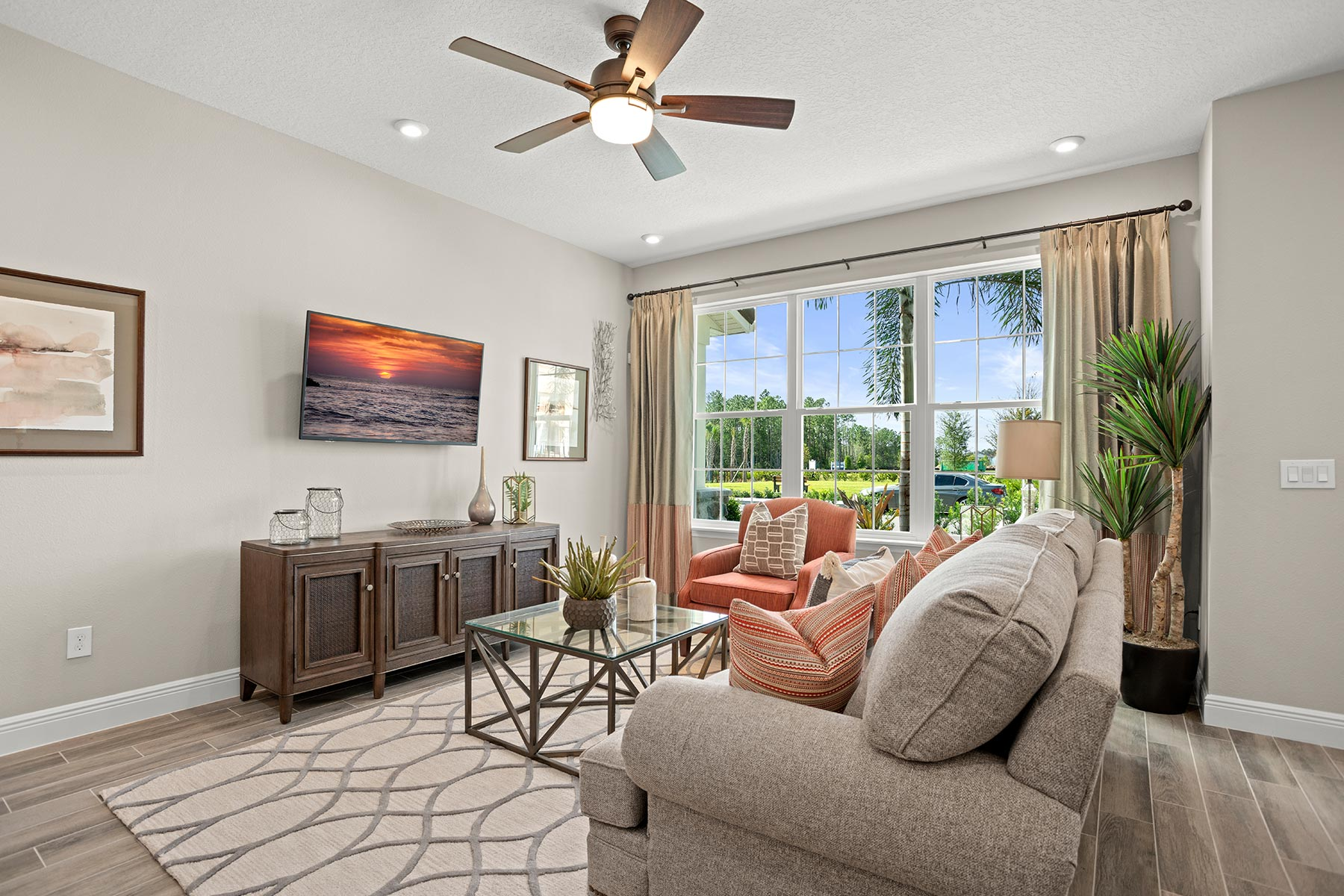 Amber Plan Greatroom at Legado in Windermere Florida by Mattamy Homes