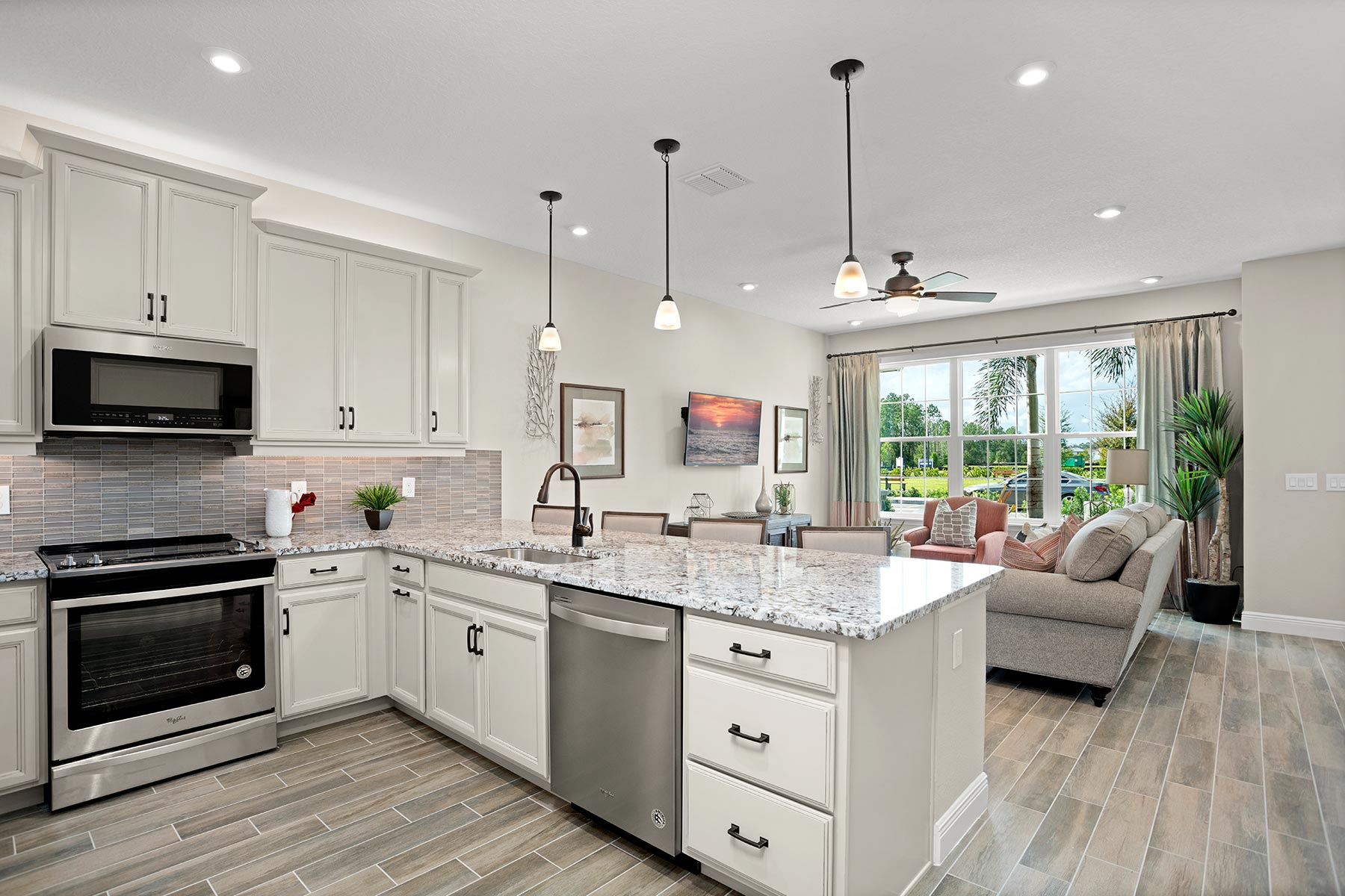 Amber Plan Kitchen at Legado in Windermere Florida by Mattamy Homes