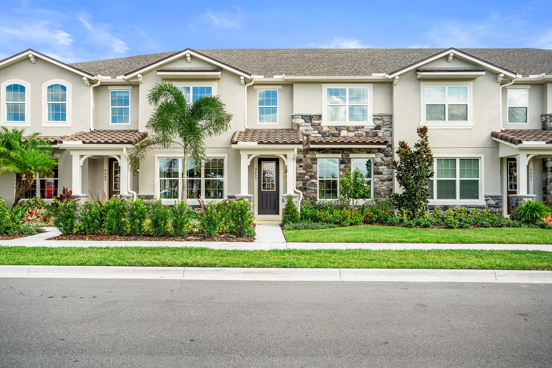 Dancy Plan Elevation Front at Legado in Windermere Florida by Mattamy Homes