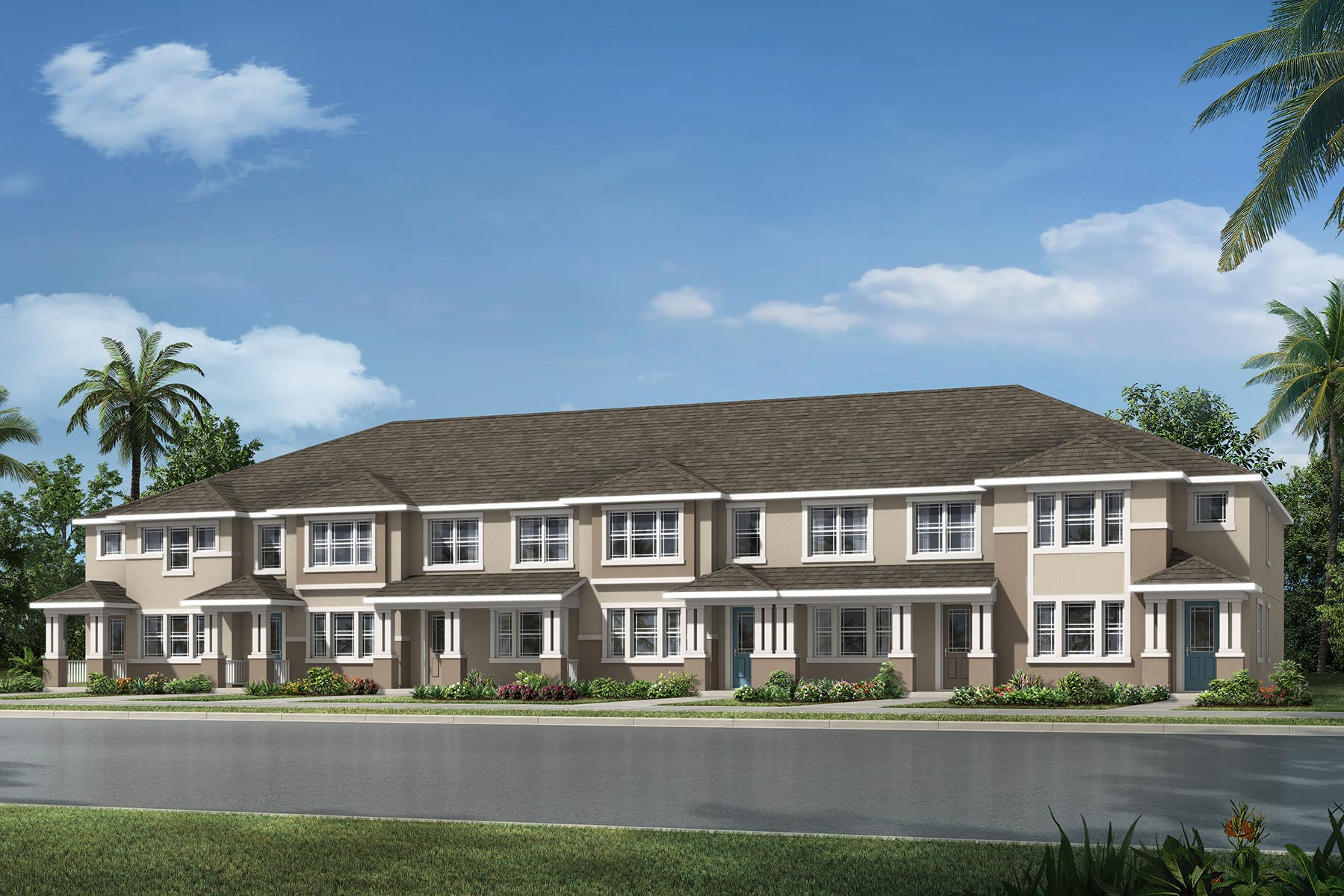 Fallglo Plan TownHomes at Legado in Windermere Florida by Mattamy Homes