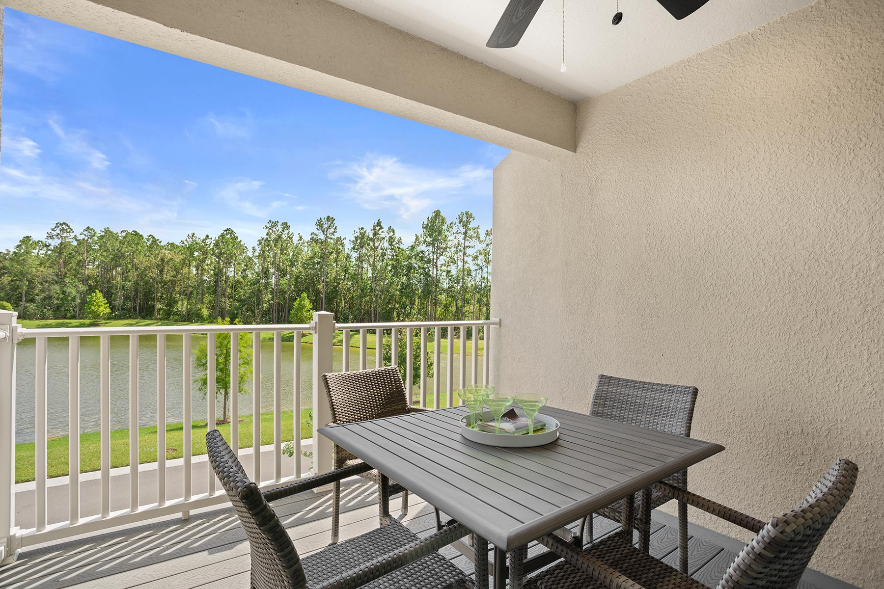 Fallglo Plan Patio at Legado in Windermere Florida by Mattamy Homes