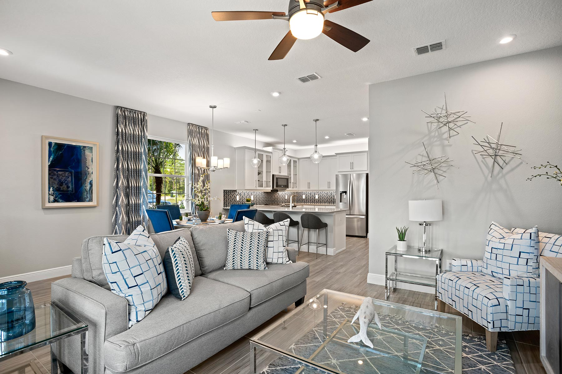 Fallglo Plan Greatroom at Legado in Windermere Florida by Mattamy Homes