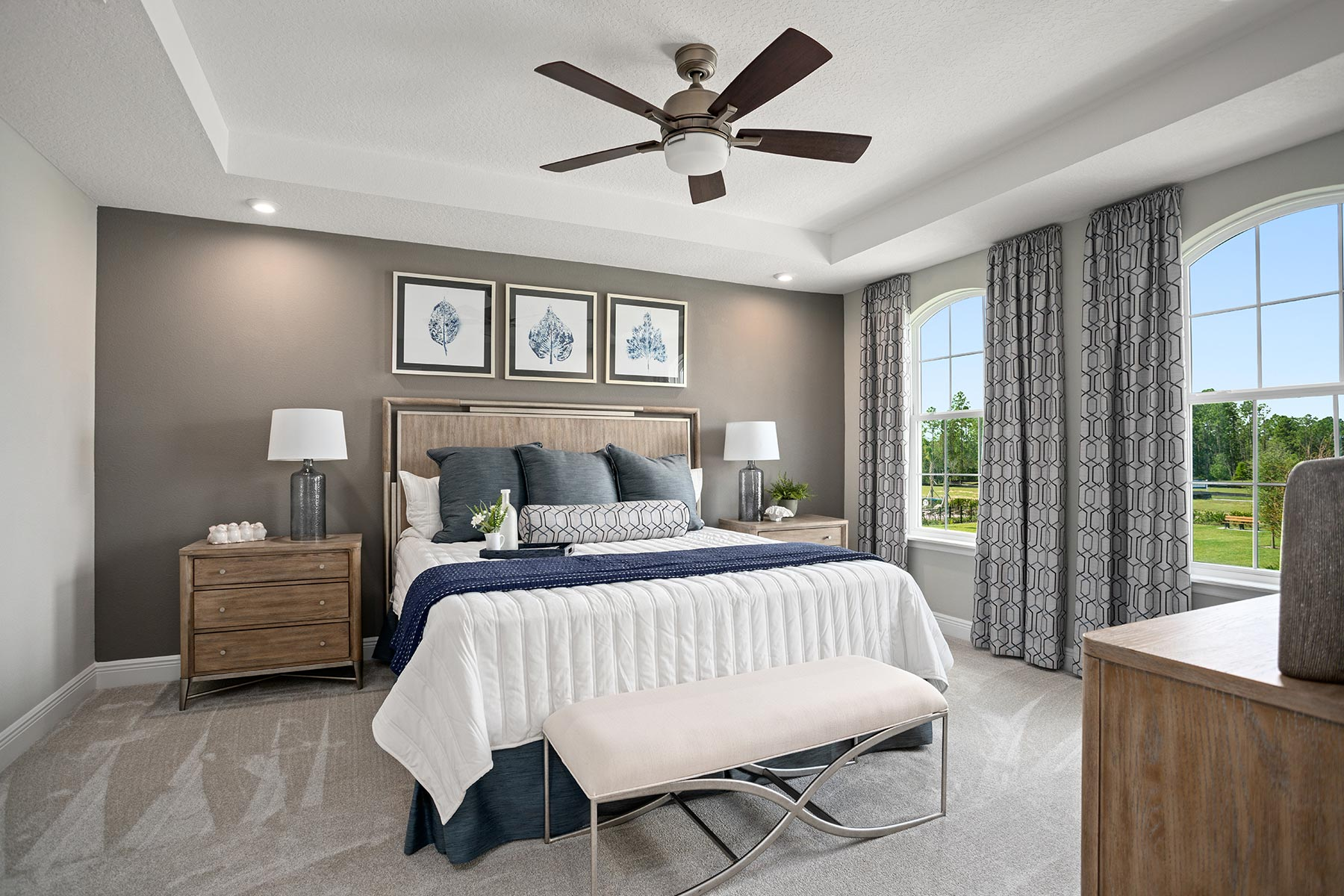 Fallglo Plan Bedroom at Legado in Windermere Florida by Mattamy Homes