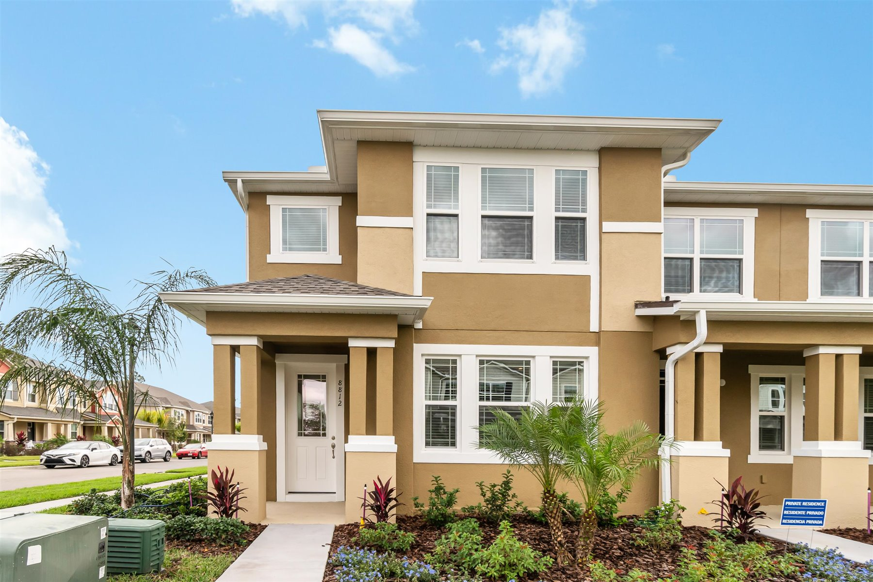 Minneola Plan Elevation Front at Legado in Windermere Florida by Mattamy Homes