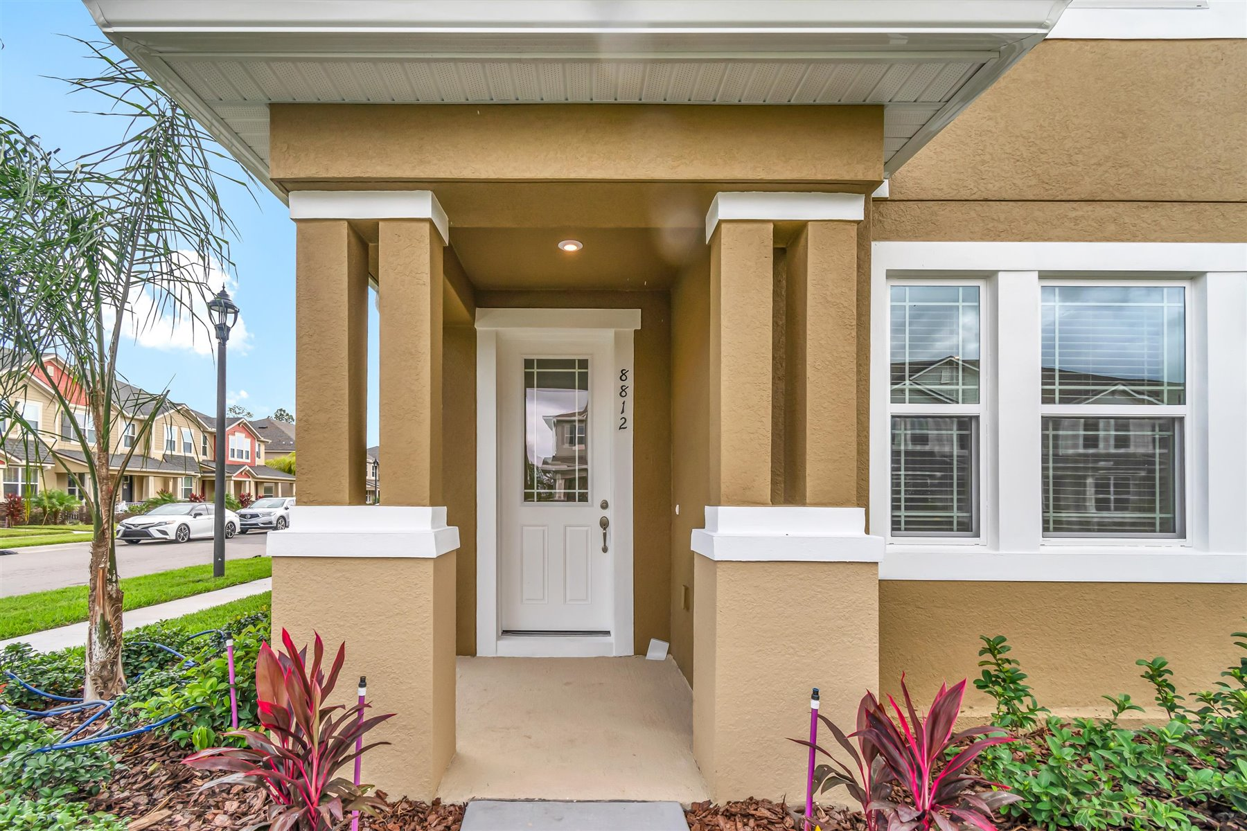 Minneola Plan Front Porch at Legado in Windermere Florida by Mattamy Homes