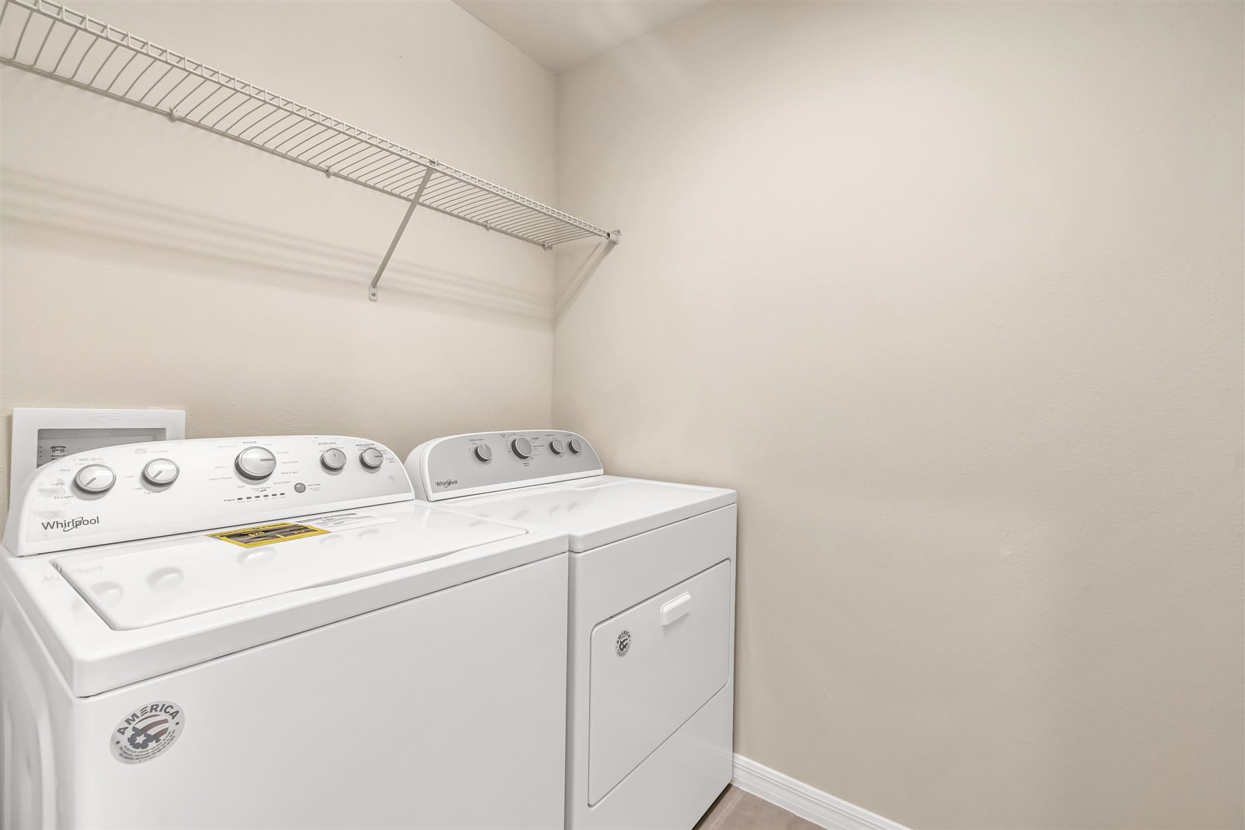 Minneola Plan Laundry at Legado in Windermere Florida by Mattamy Homes