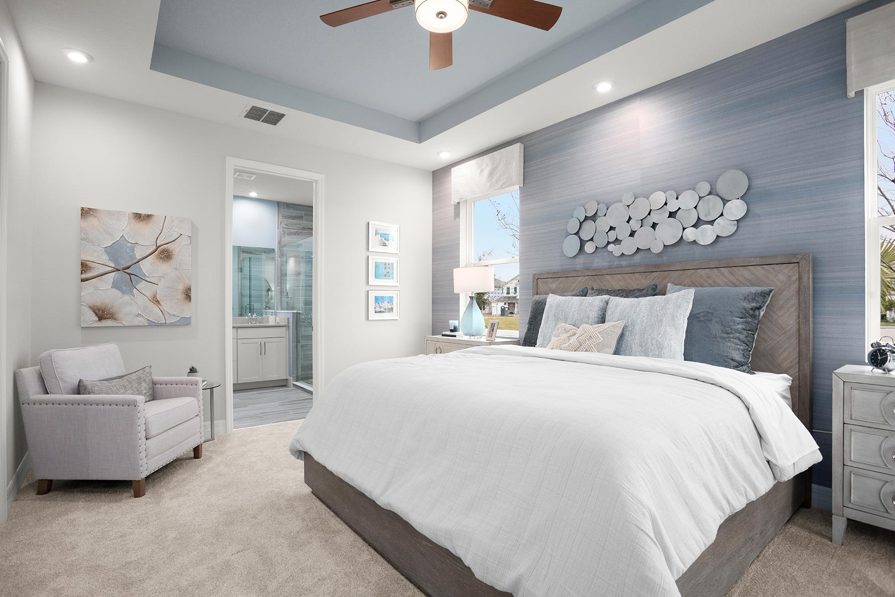 Meridian Parks Bedroom in Orlando Florida by Mattamy Homes