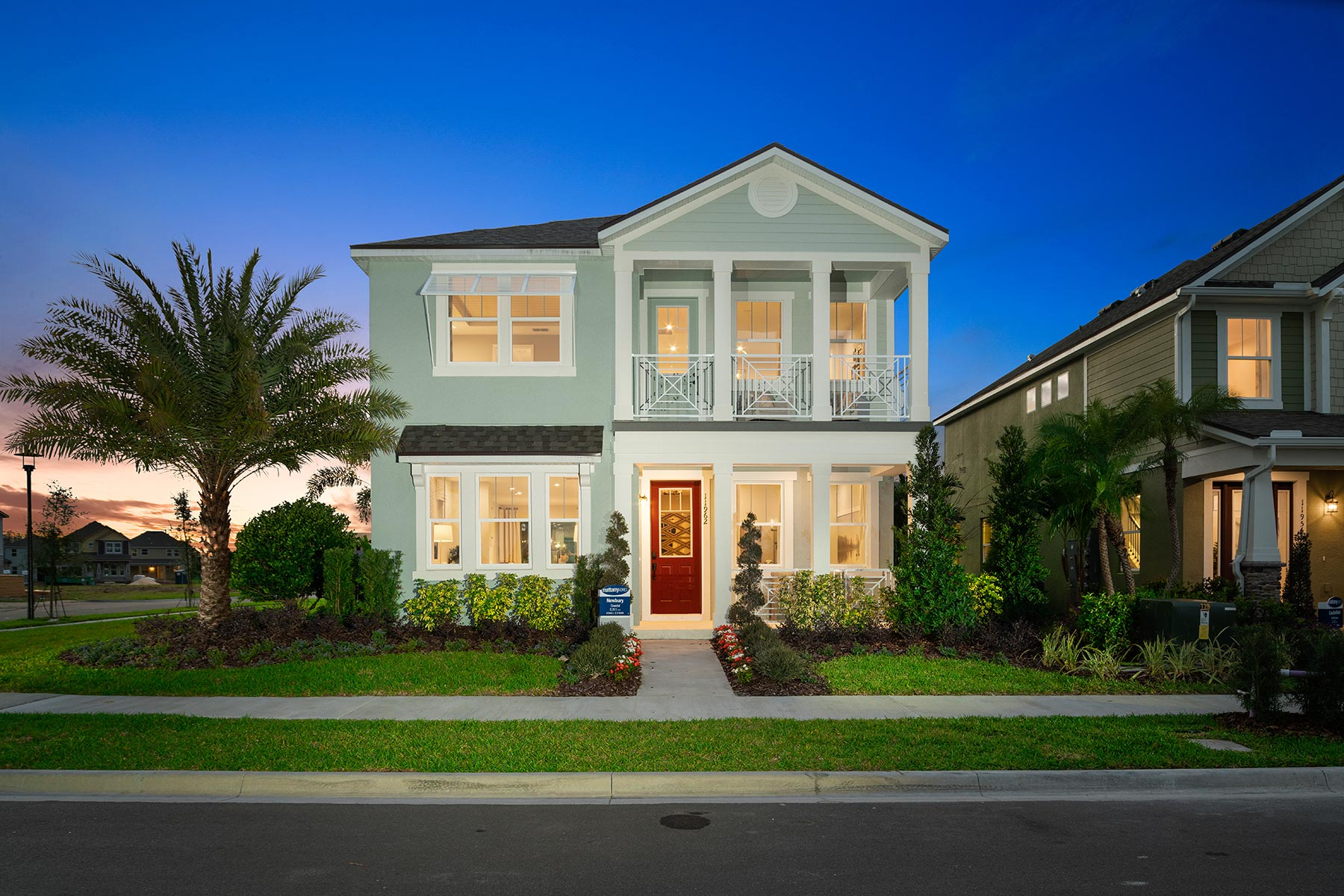 Meridian Parks Elevation Front in Orlando Florida by Mattamy Homes