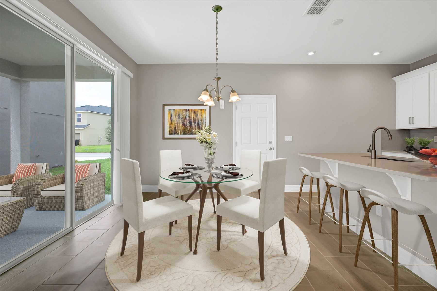 Belmont Plan Breakfast at Tohoqua in Kissimmee Florida by Mattamy Homes