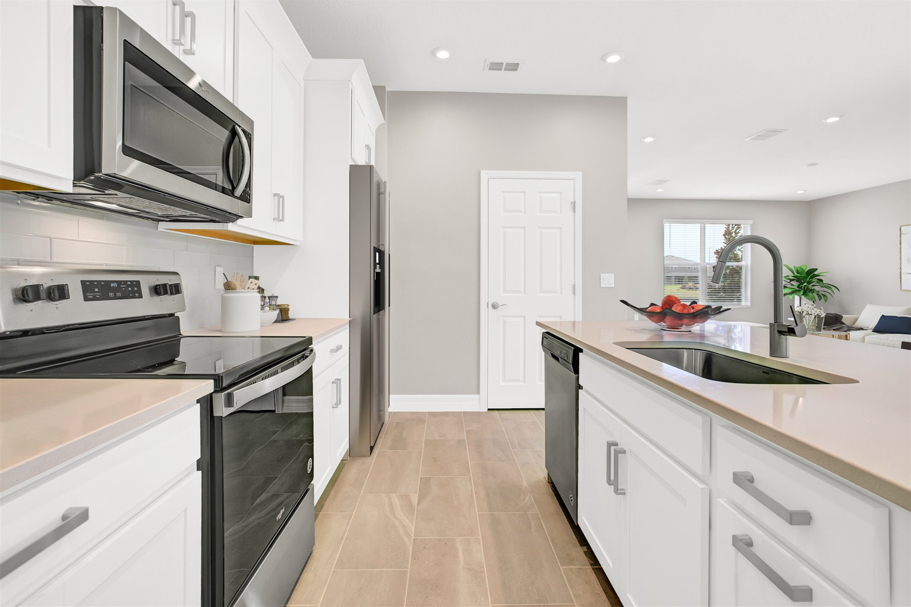 Belmont Plan Kitchen at Tohoqua in Kissimmee Florida by Mattamy Homes