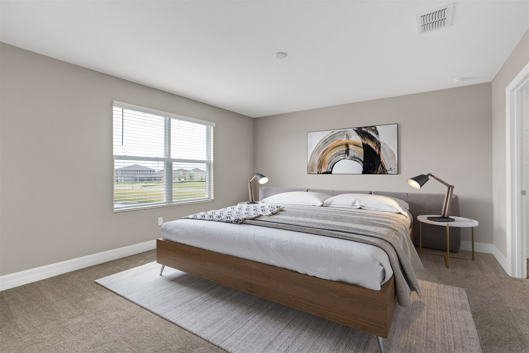 Belmont Plan Bedroom at Tohoqua in Kissimmee Florida by Mattamy Homes
