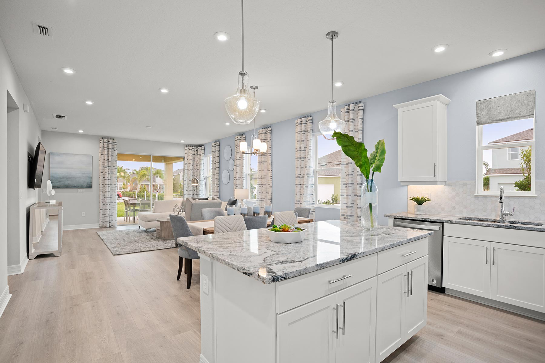 Camden Plan Kitchen at Meridian Parks in Orlando Florida by Mattamy Homes