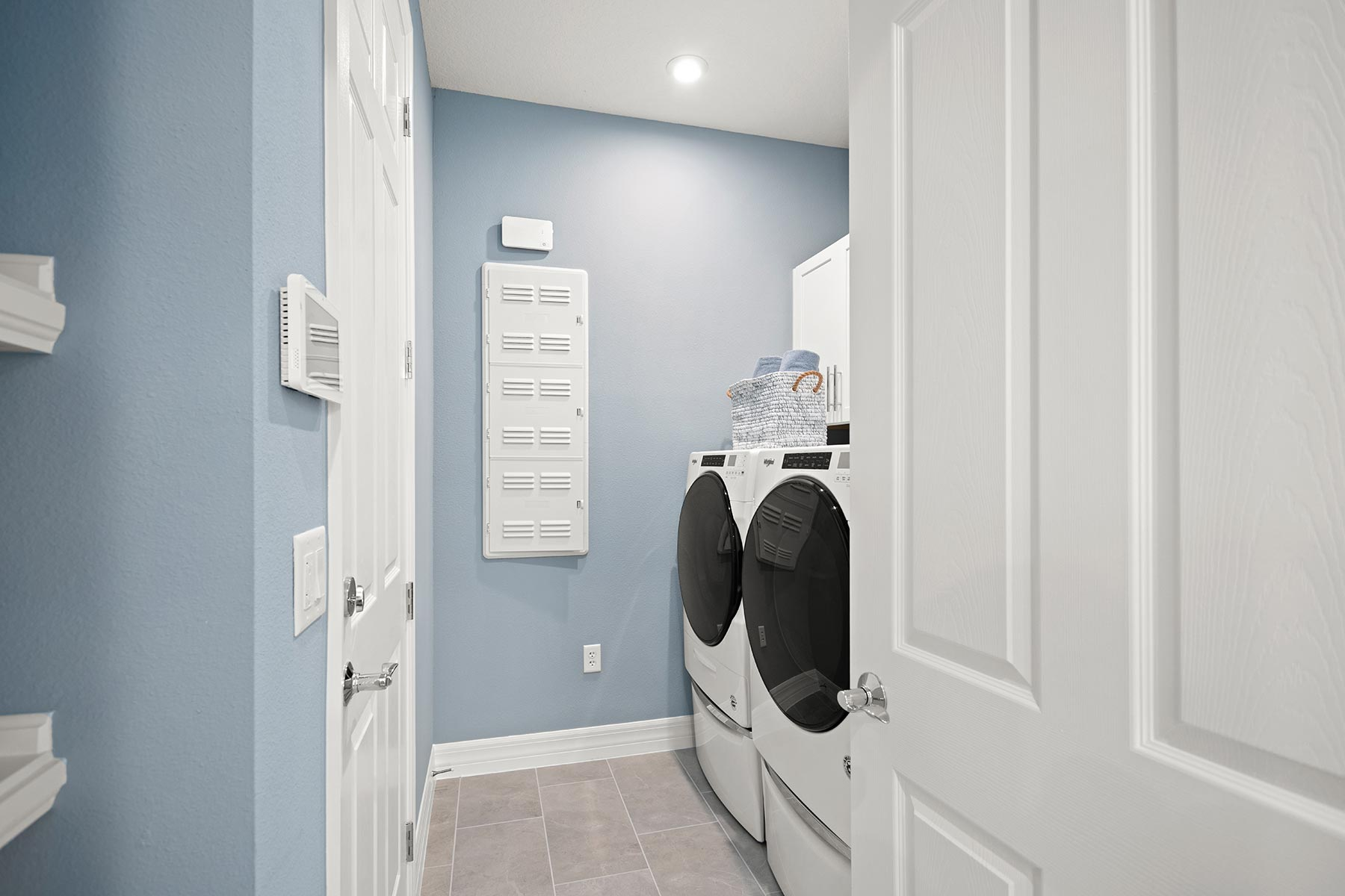 Camden Plan Laundry at Meridian Parks in Orlando Florida by Mattamy Homes