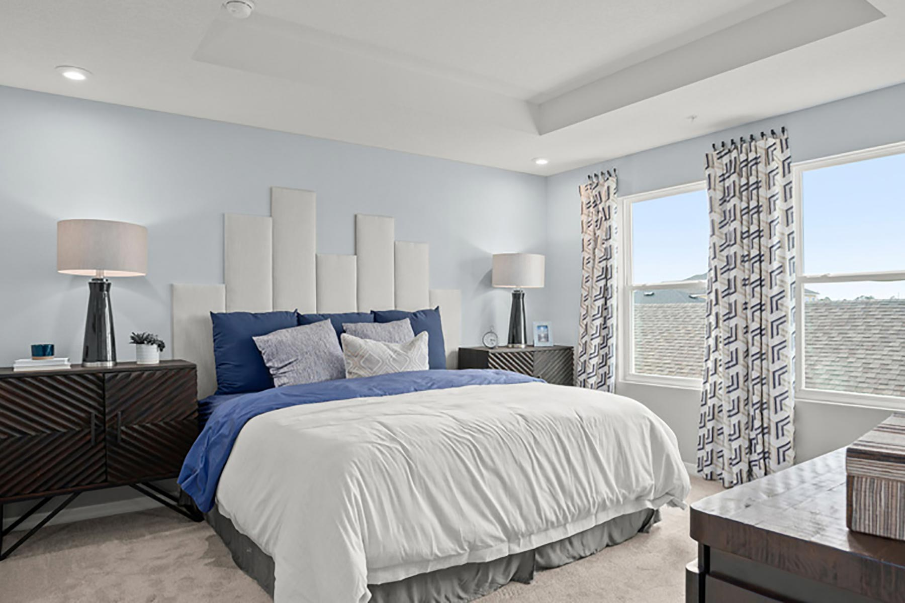 Devonshire II Plan Bedroom at Meridian Parks in Orlando Florida by Mattamy Homes