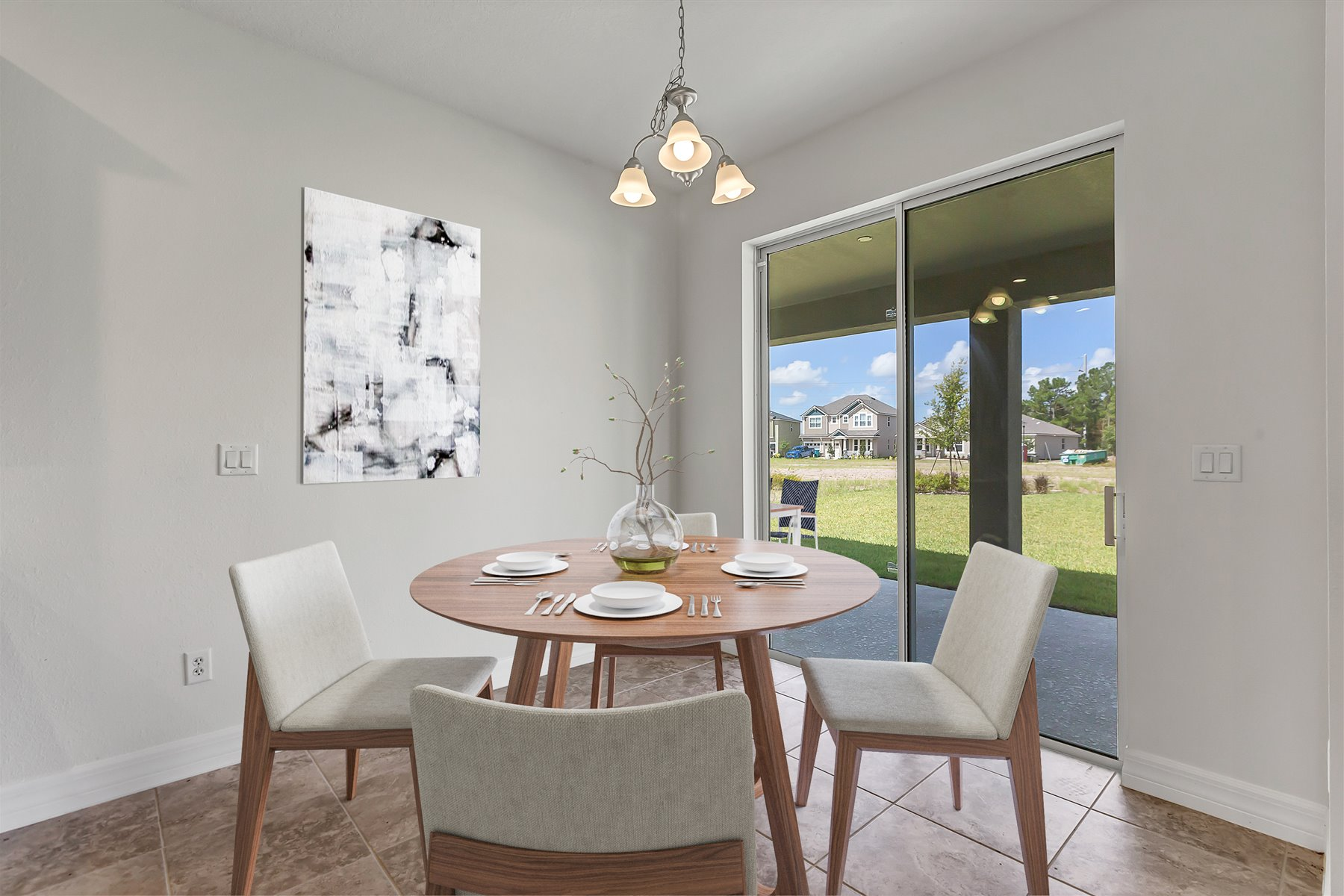 Newport Plan Breakfast at Meridian Parks in Orlando Florida by Mattamy Homes