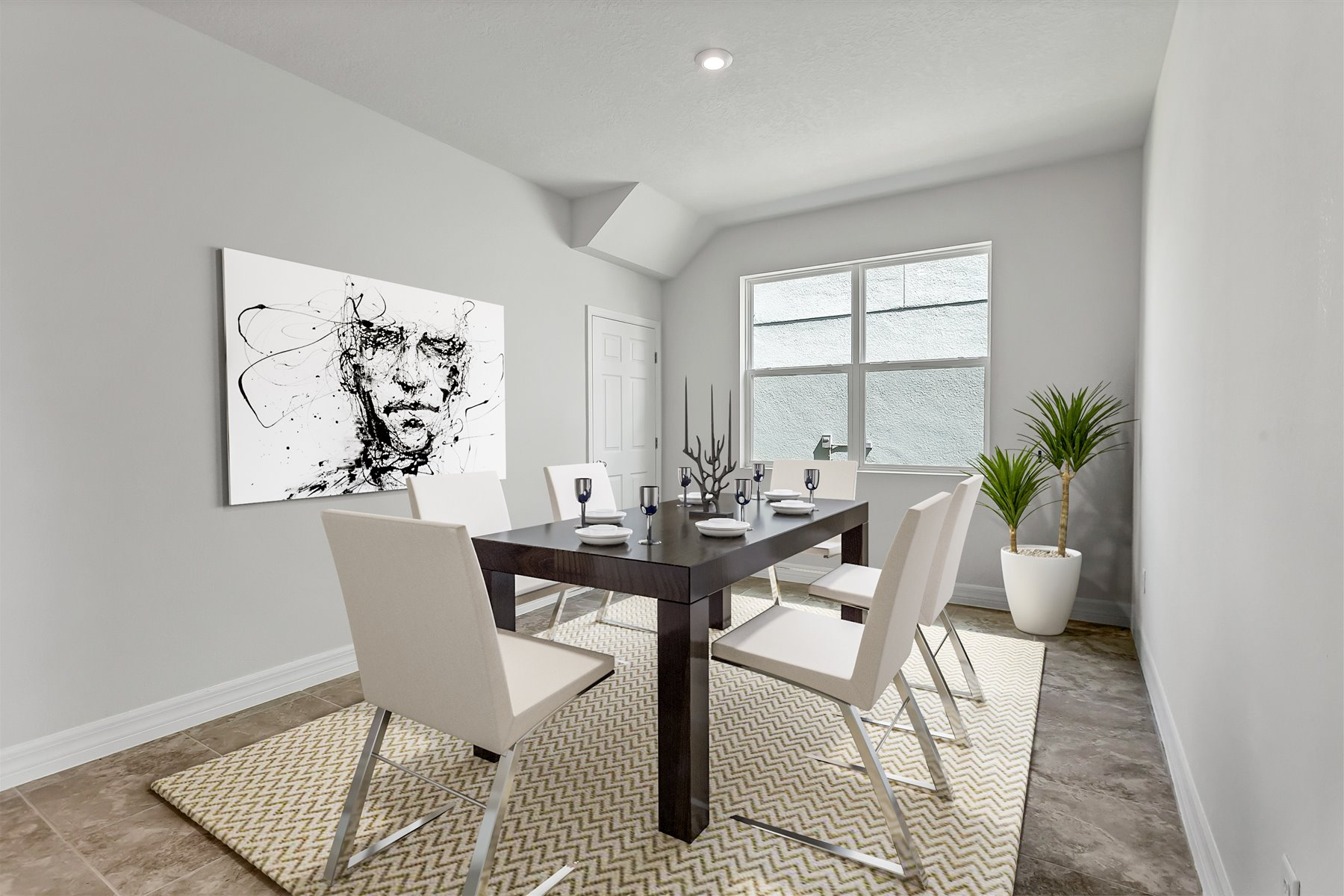 Newport Plan Dining at Meridian Parks in Orlando Florida by Mattamy Homes